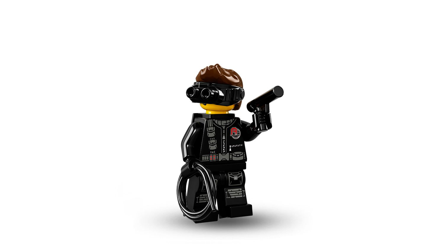 LEGO Collectable Minifigures 71013 LEGO® Minifiguren Serie 16 60er Box LEGO_71013-Spy.jpg