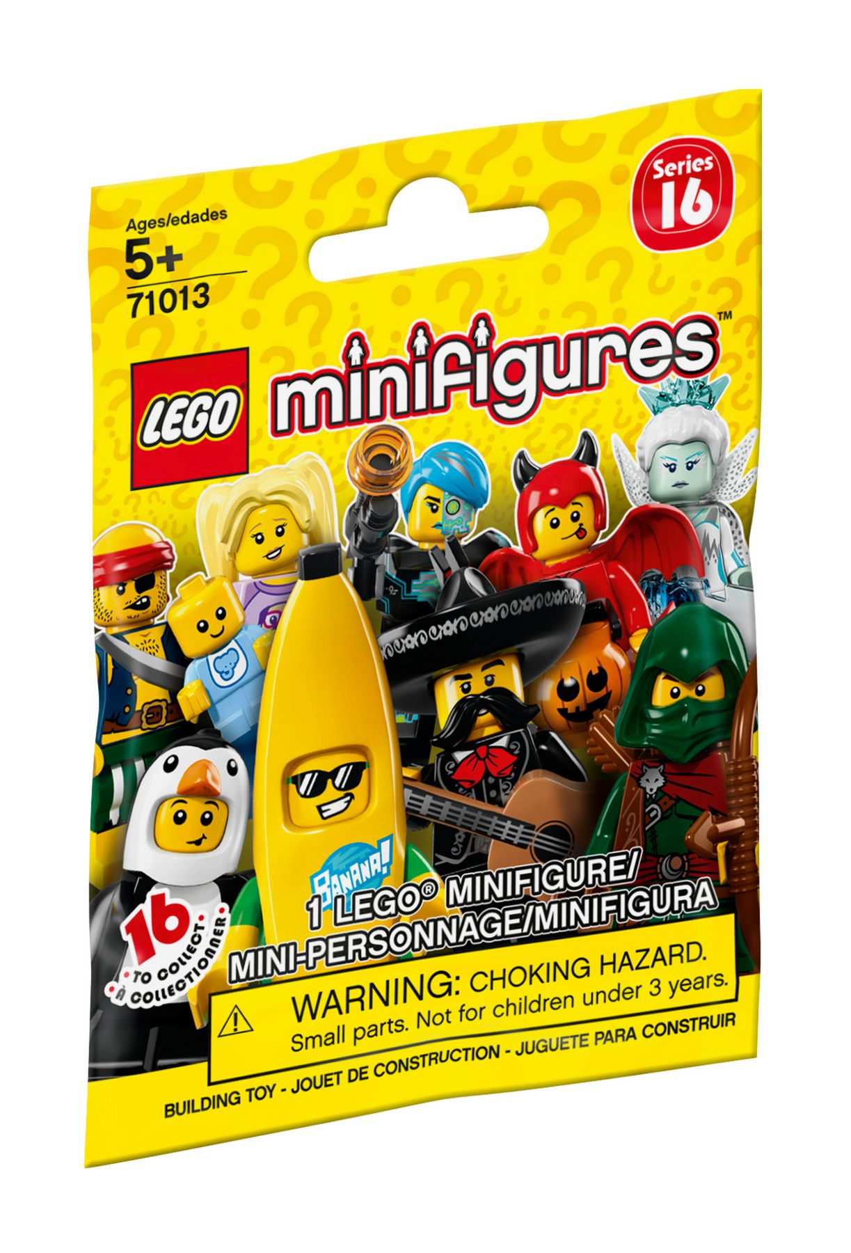LEGO Collectable Minifigures 71013 LEGO® Minifiguren Serie 16