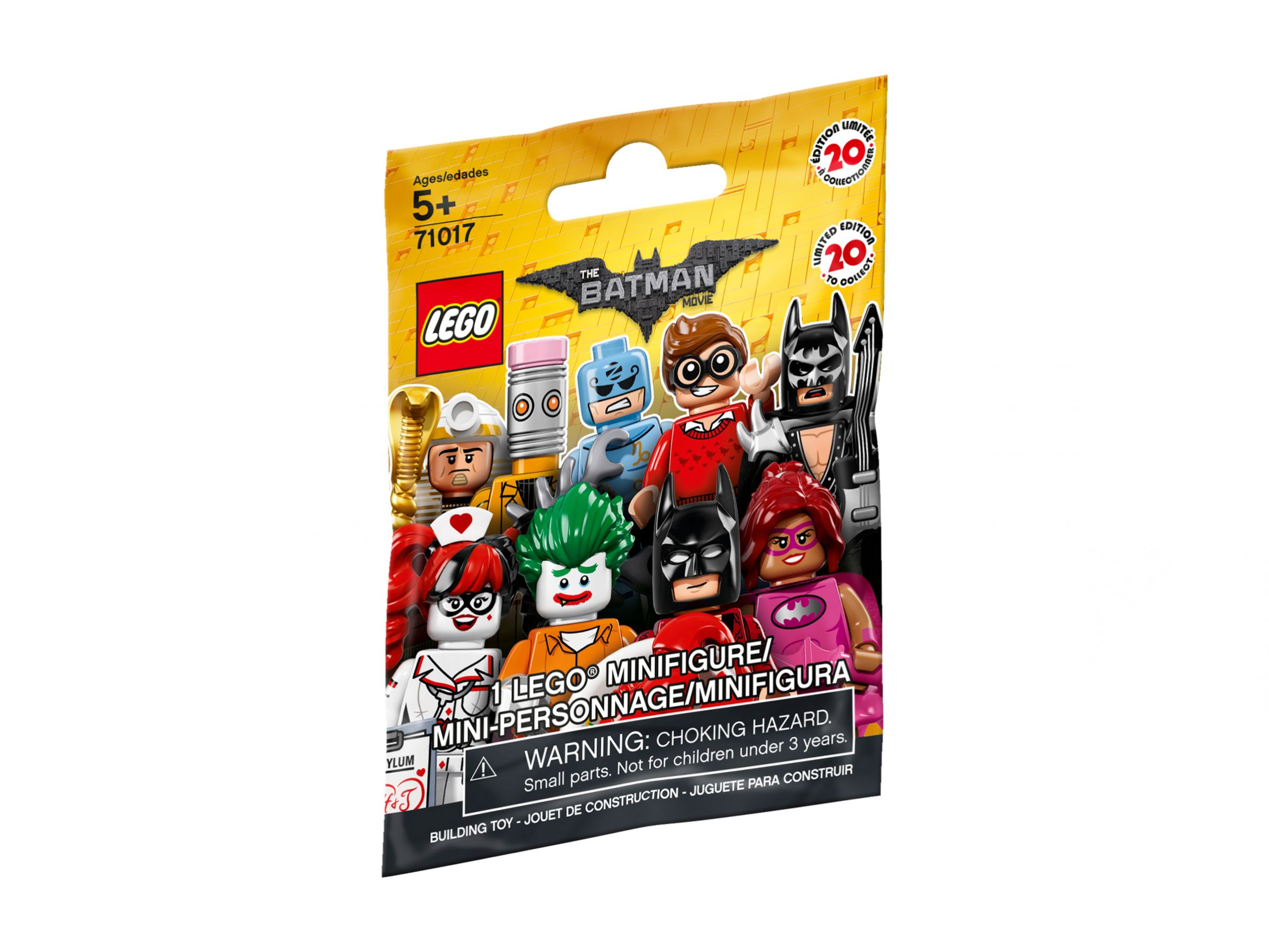 LEGO Collectable Minifigures 71017 LEGO® Batman Movie Minifiguren Serie