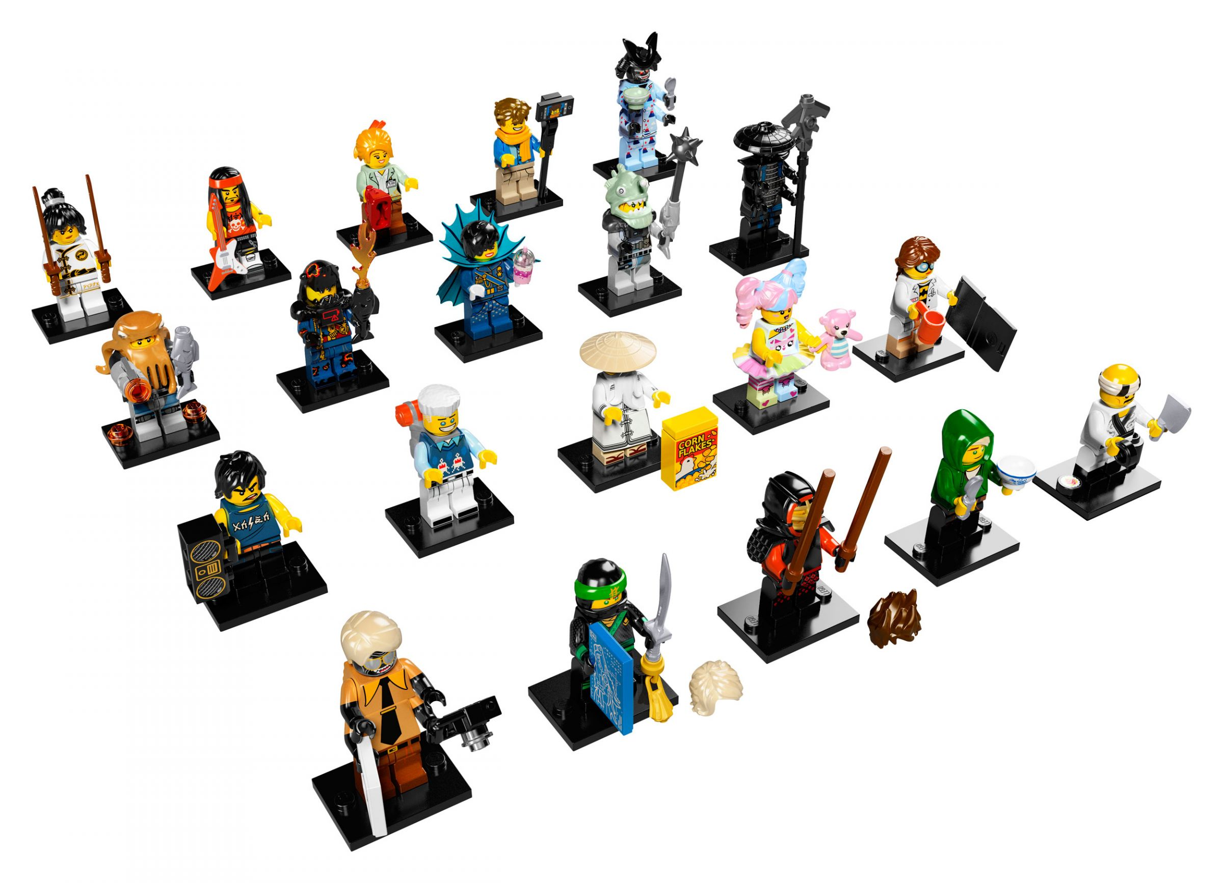 LEGO Collectable Minifigures 71019 LEGO® Ninjago Movie Minifiguren Serie 60er Box LEGO_71019_Ninjago_Movie_Minifiguren.jpg