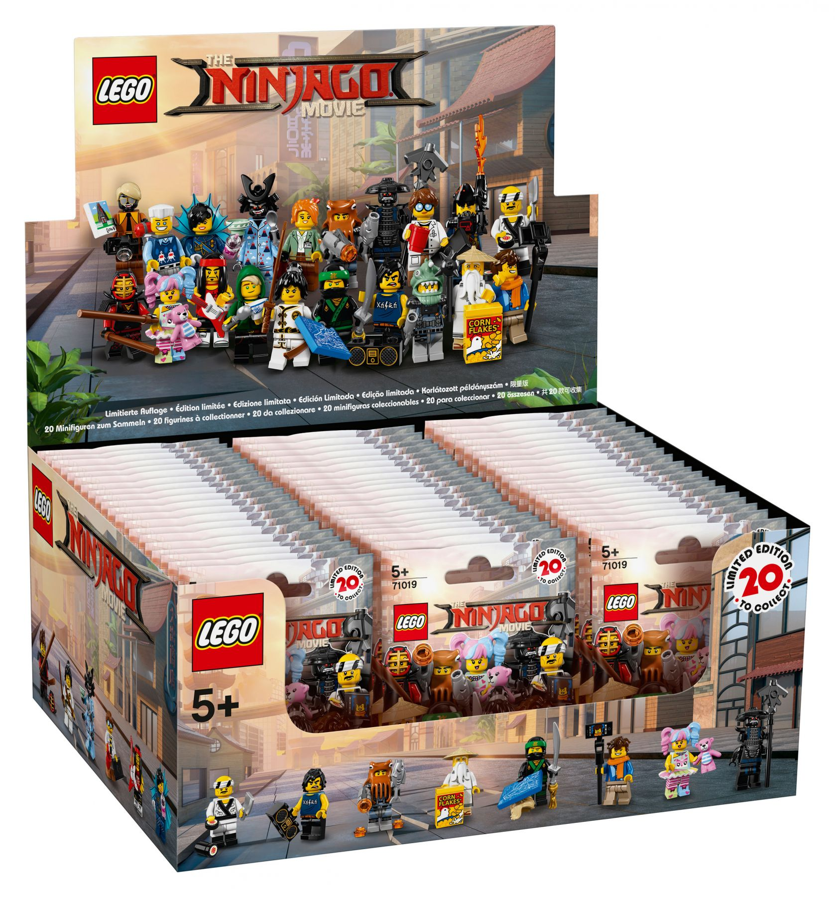 lego collectable minifigures 71019 lego ninjago movie. Black Bedroom Furniture Sets. Home Design Ideas
