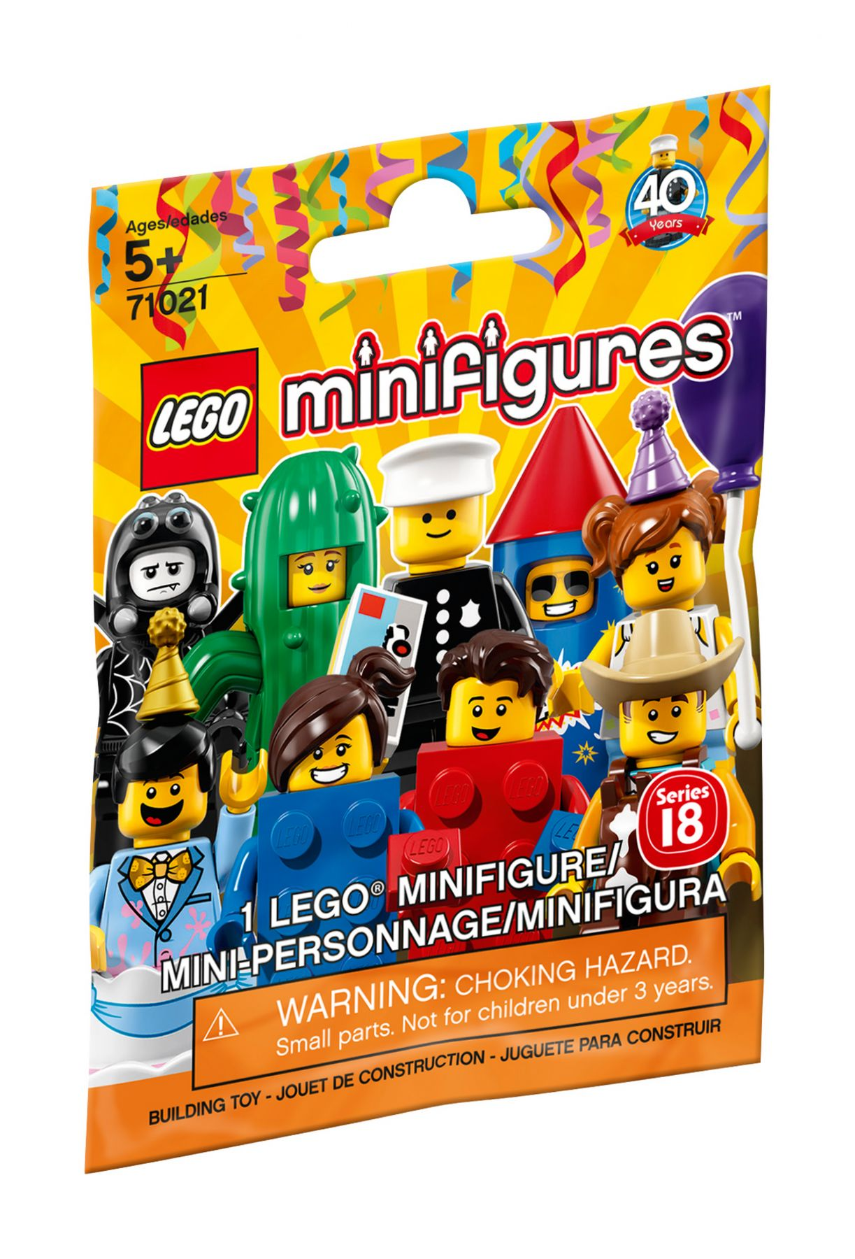 LEGO Collectable Minifigures 71021 LEGO® Minifiguren Serie 18