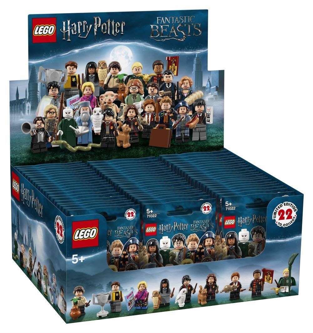 lego collectable minifigures 71022 harry potter. Black Bedroom Furniture Sets. Home Design Ideas