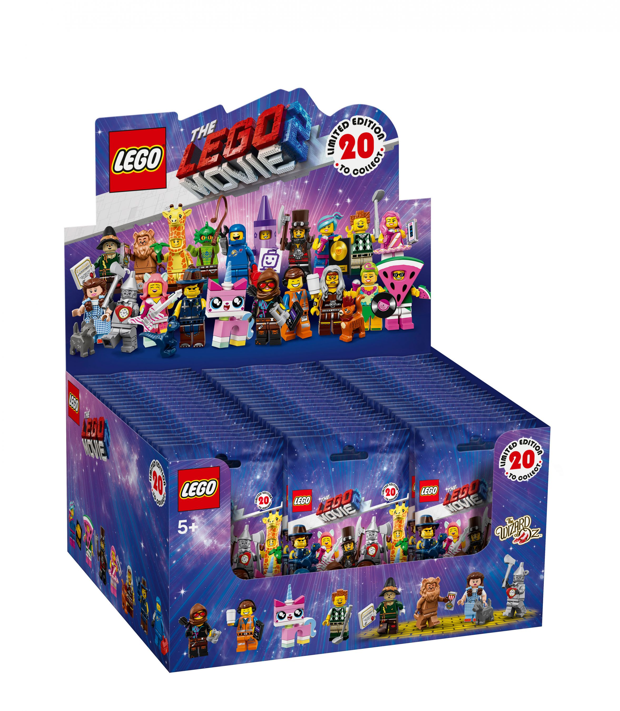 LEGO Collectable Minifigures 71023 THE LEGO® MOVIE 2 - 60er Box