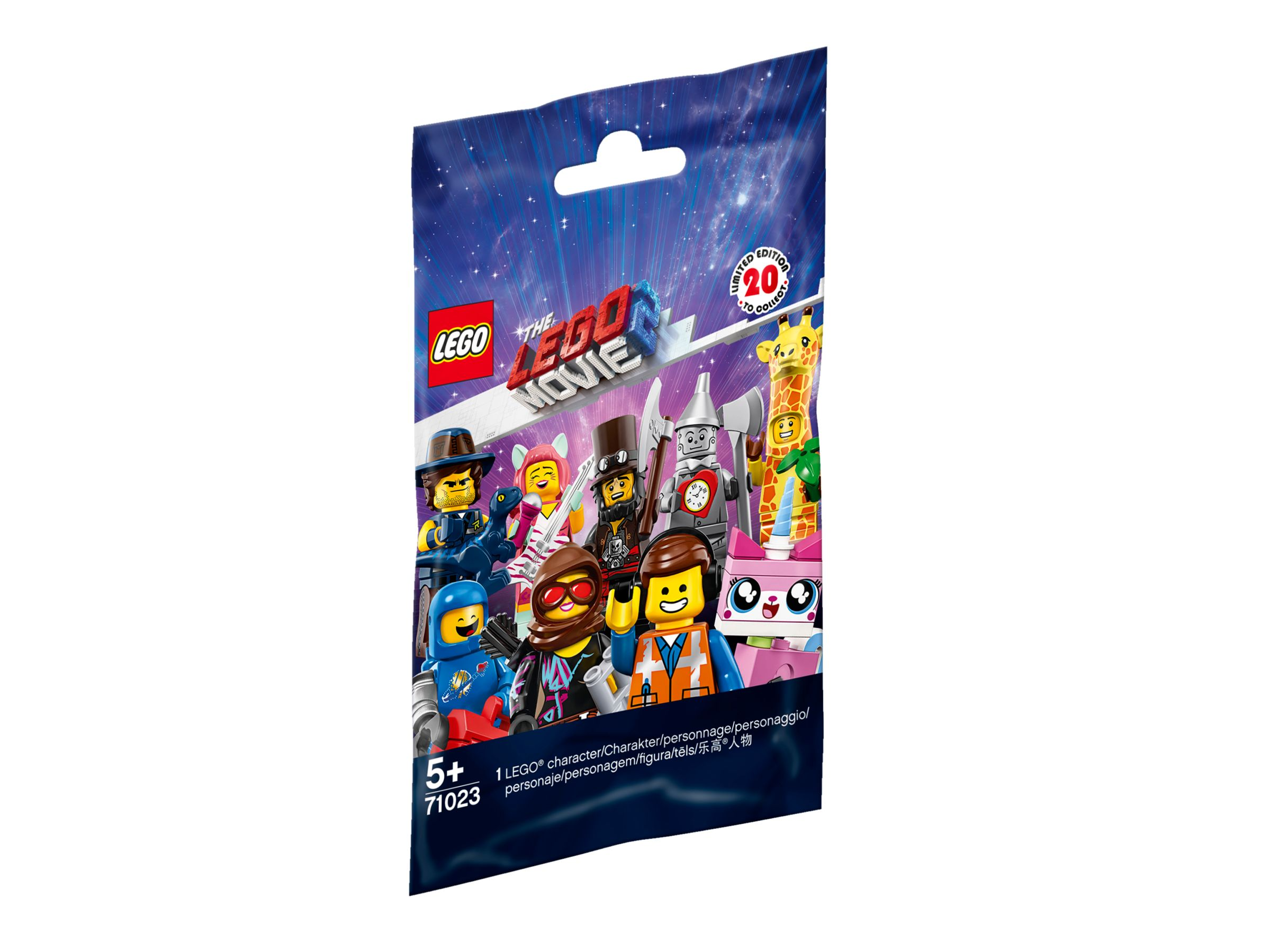 LEGO Collectable Minifigures 71023 THE LEGO® MOVIE 2 - 60er Box LEGO_71023_alt1.jpg