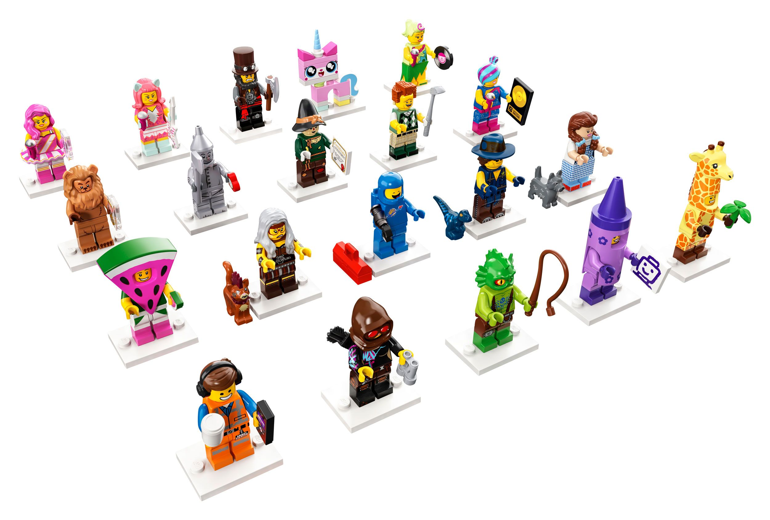 LEGO Collectable Minifigures 71023 THE LEGO® MOVIE 2 LEGO_71023_figuren.jpg