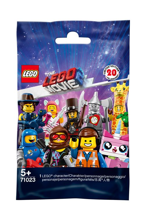 LEGO Collectable Minifigures 71023 THE LEGO® MOVIE 2 LEGO_71023_polybag.jpg