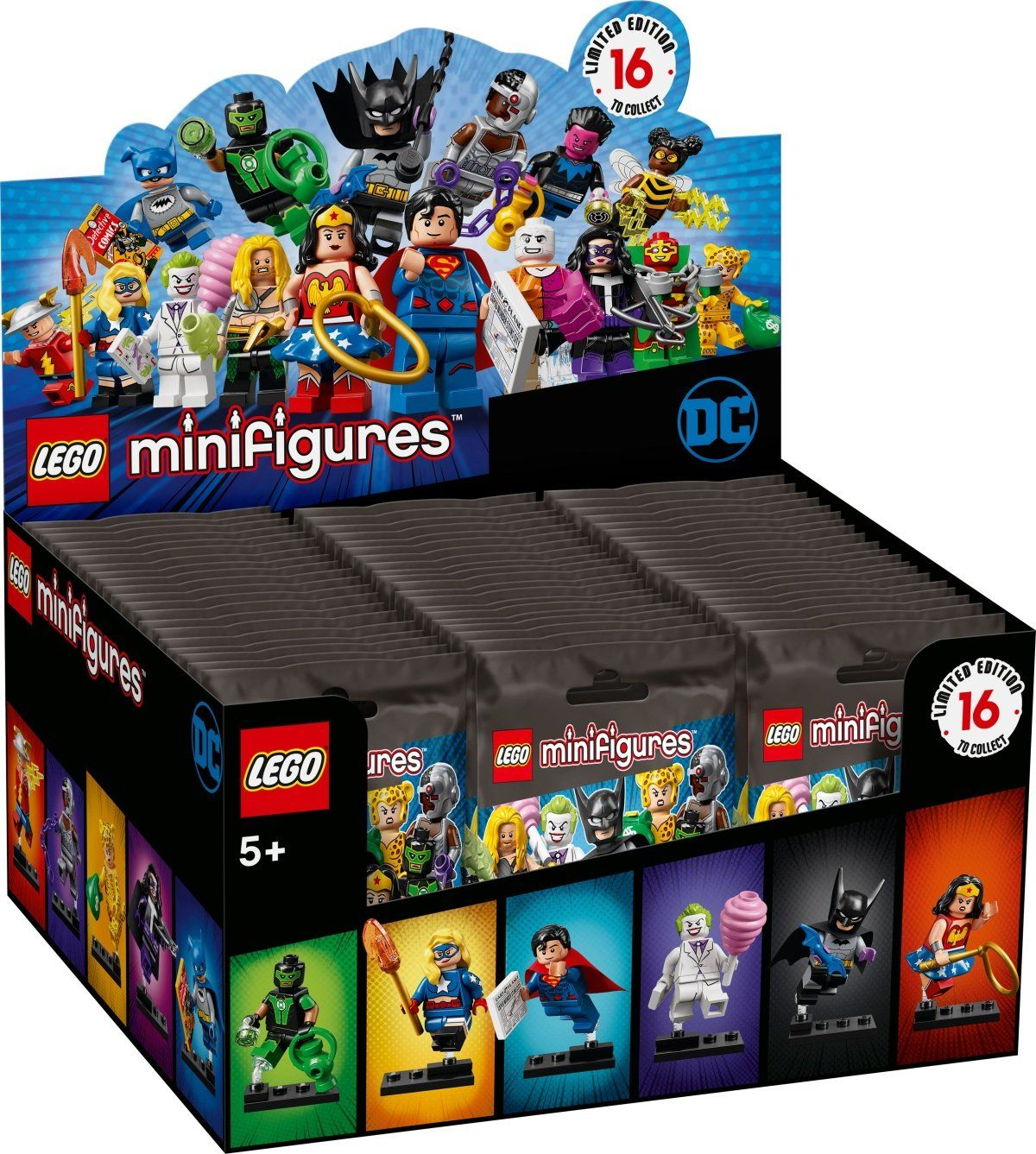 LEGO Collectable Minifigures 71026 LEGO® DC Super Heroes Series - 2 x 30er Box