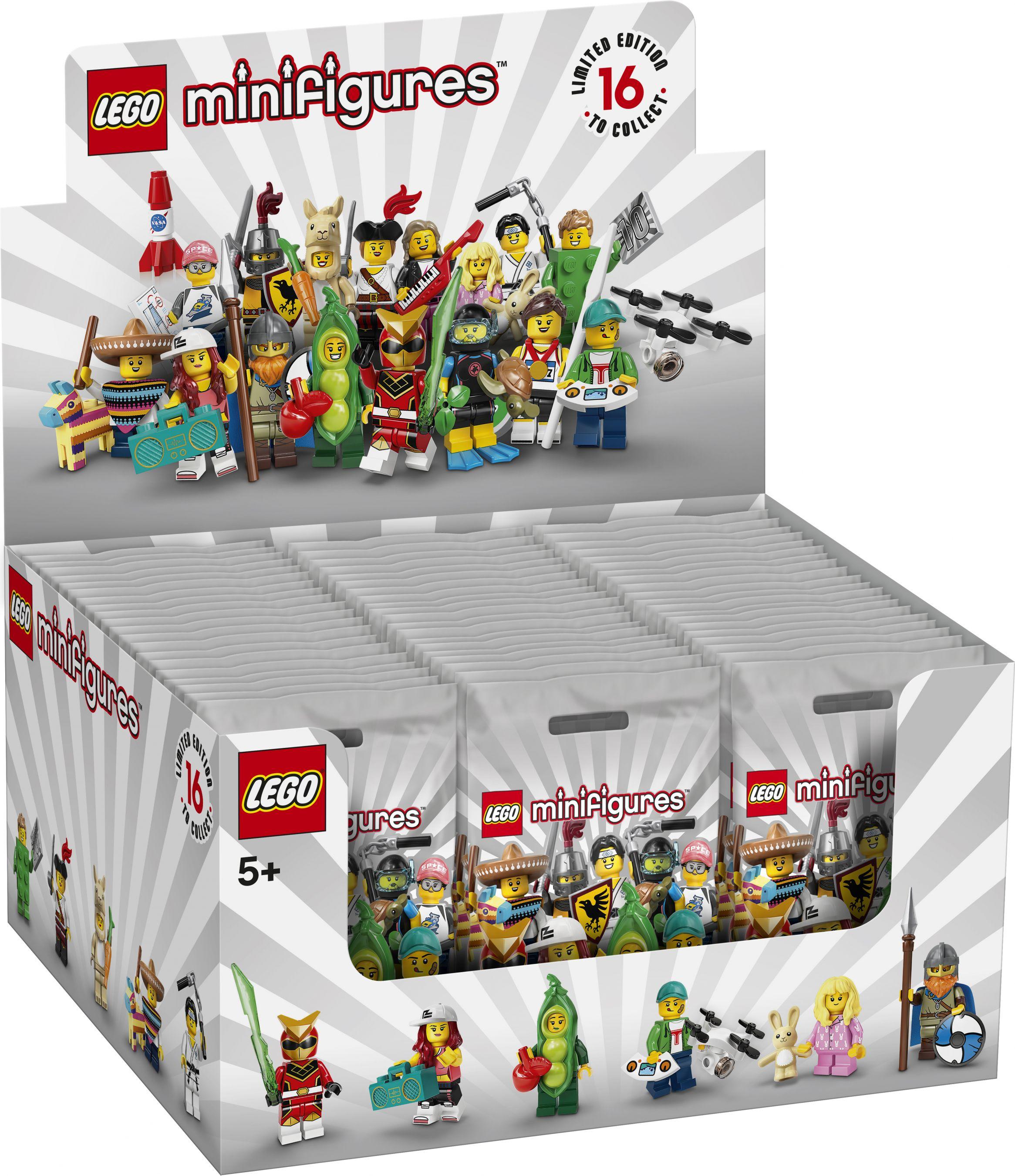LEGO® Collectable Minifigures 71027 LEGO® Minifiguren Serie 20 - 60er Box