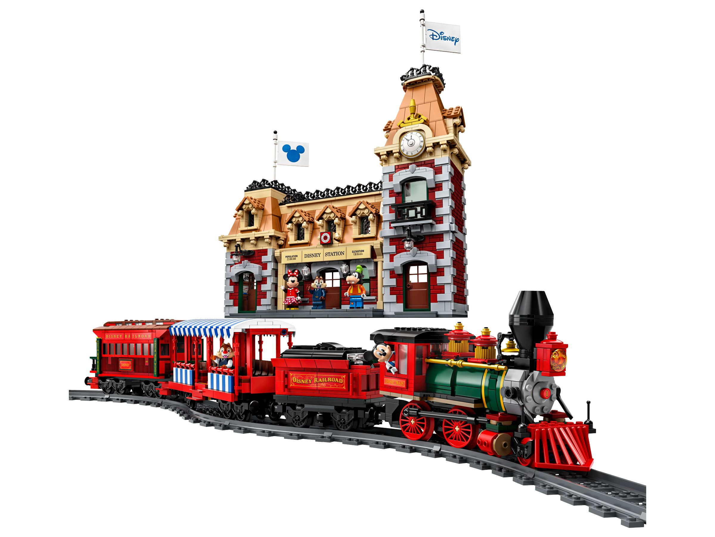 LEGO Advanced Models 71044 Disney Zug mit Bahnhof