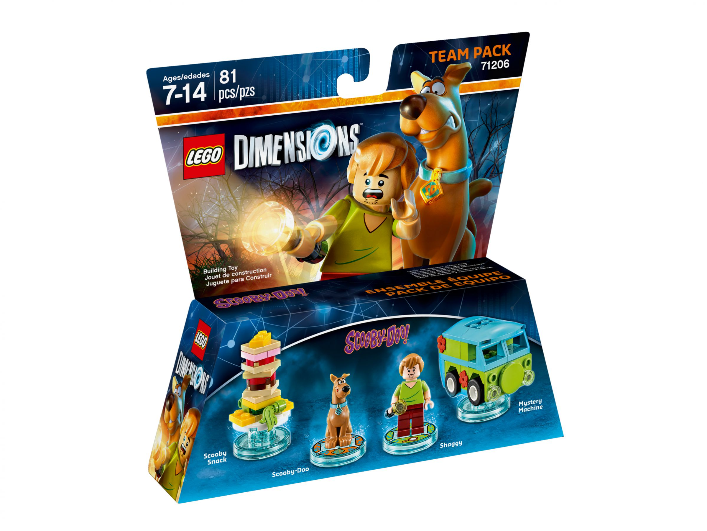 LEGO Dimensions 71206 Team-Pack Scooby-Doo™