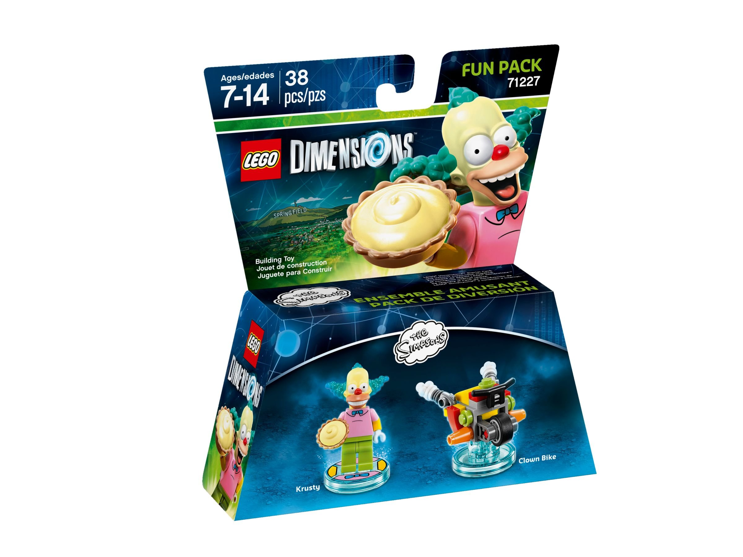 LEGO Dimensions 71227 Fun Pack Krusty