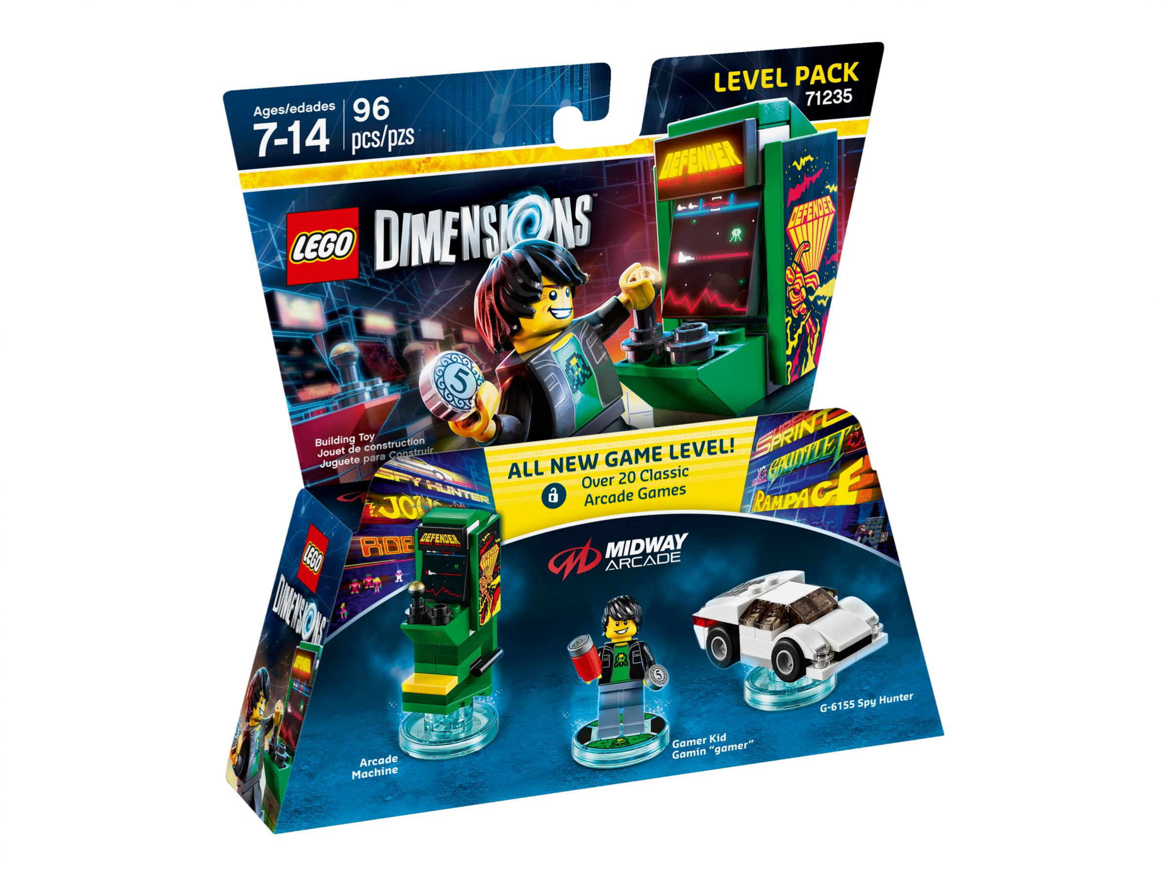 LEGO Dimensions 71235 Level Pack Midway Arcade