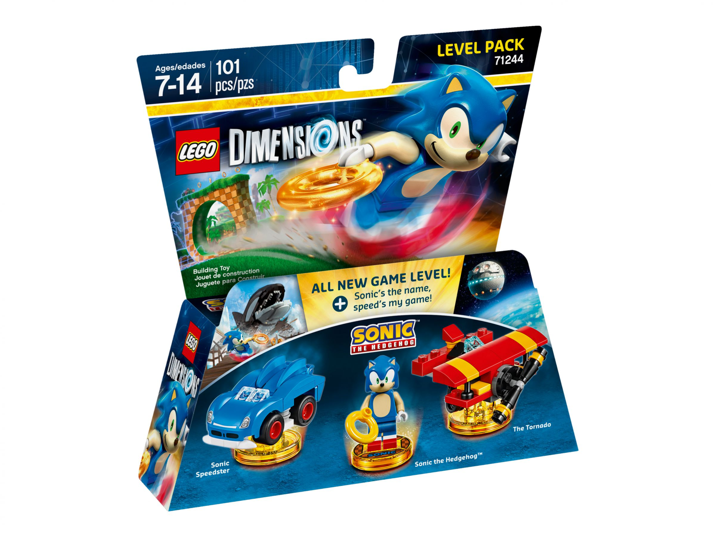 LEGO Dimensions 71244 Level Pack Sonic the Hedgehog LEGO_71244_alt1.jpg
