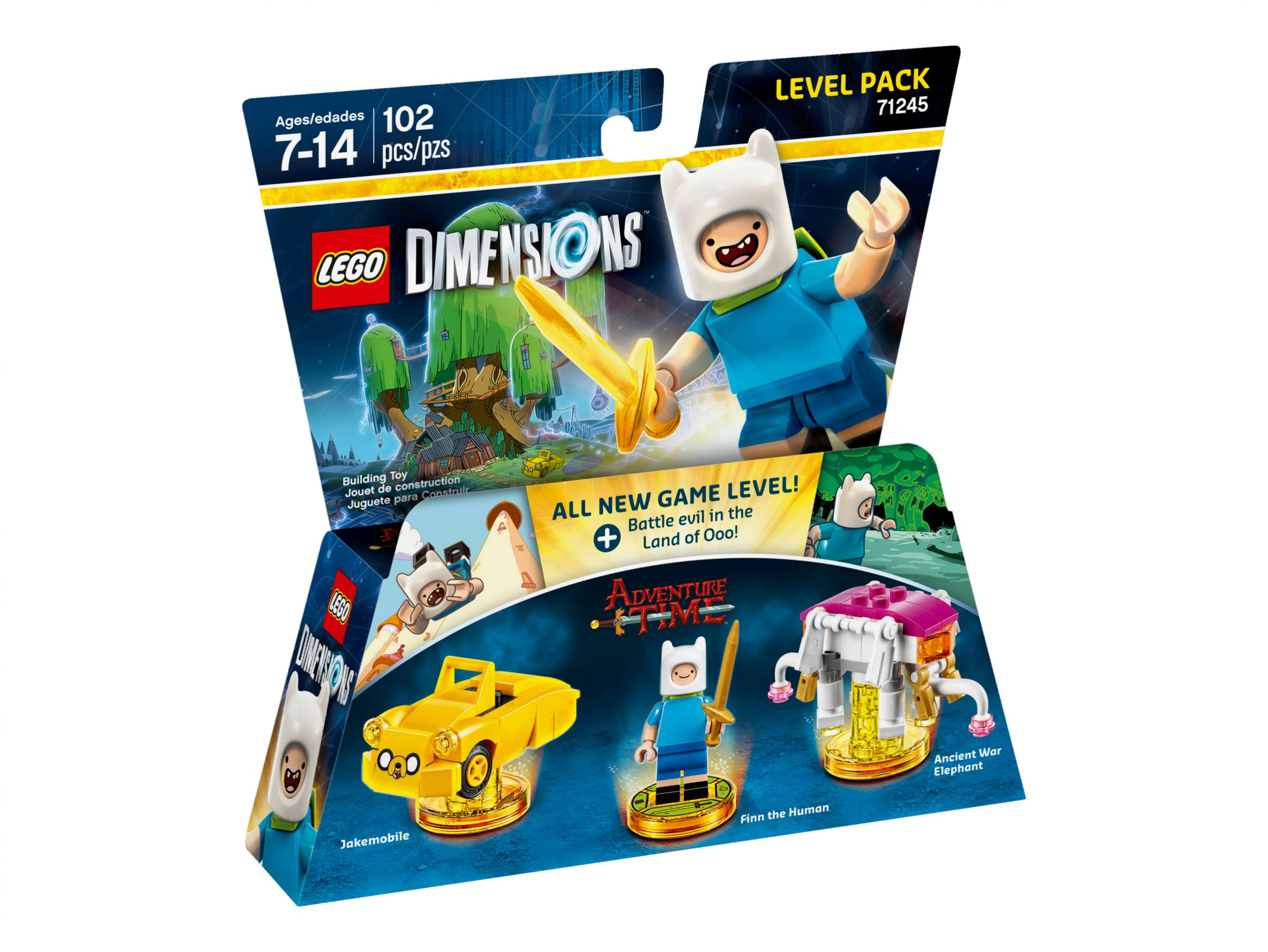 LEGO Dimensions 71245 Level Pack Adventure Time LEGO_71245_alt1.jpg