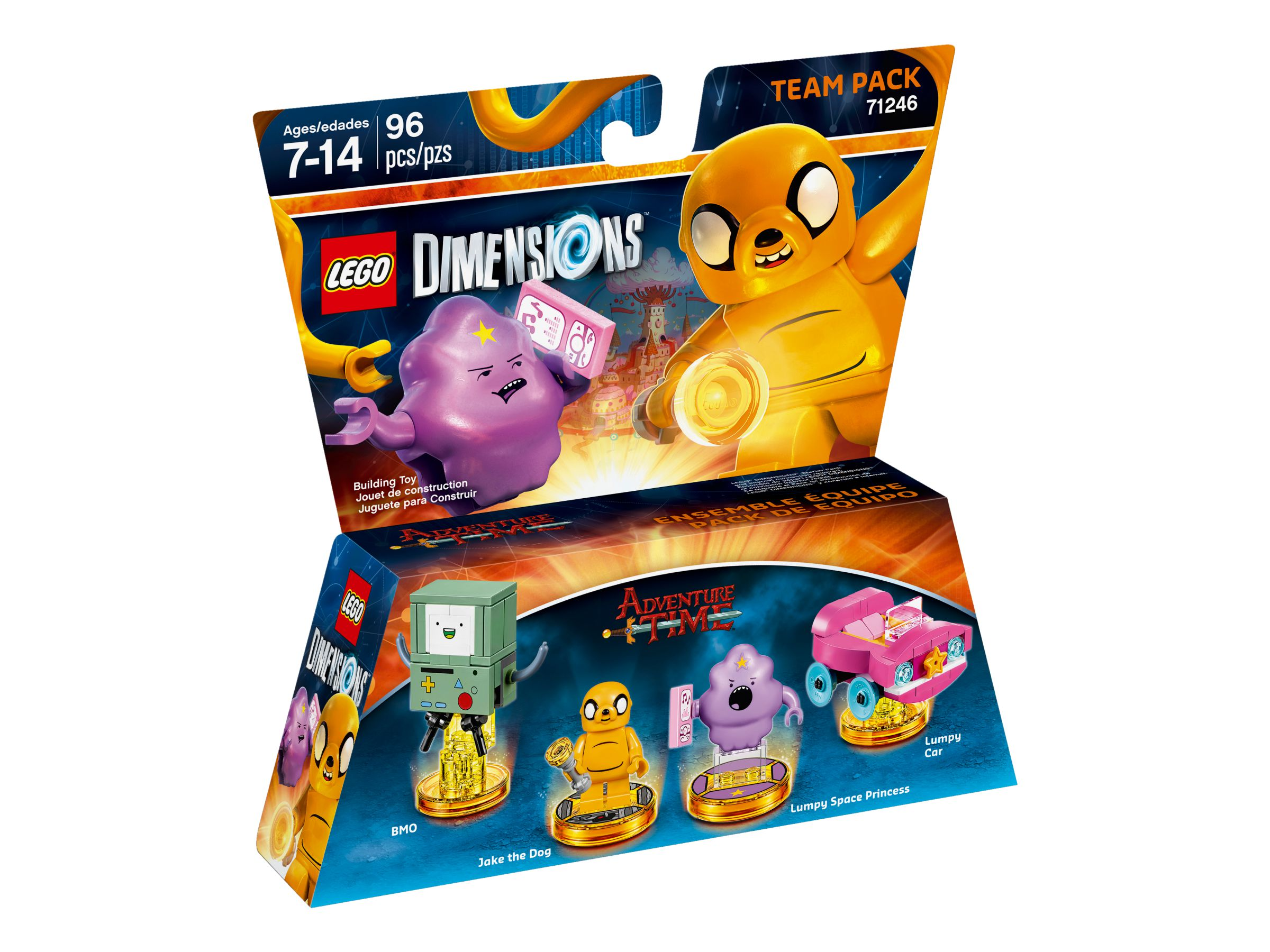 LEGO Dimensions 71246 Team Pack Adventure Time LEGO_71246_alt1.jpg