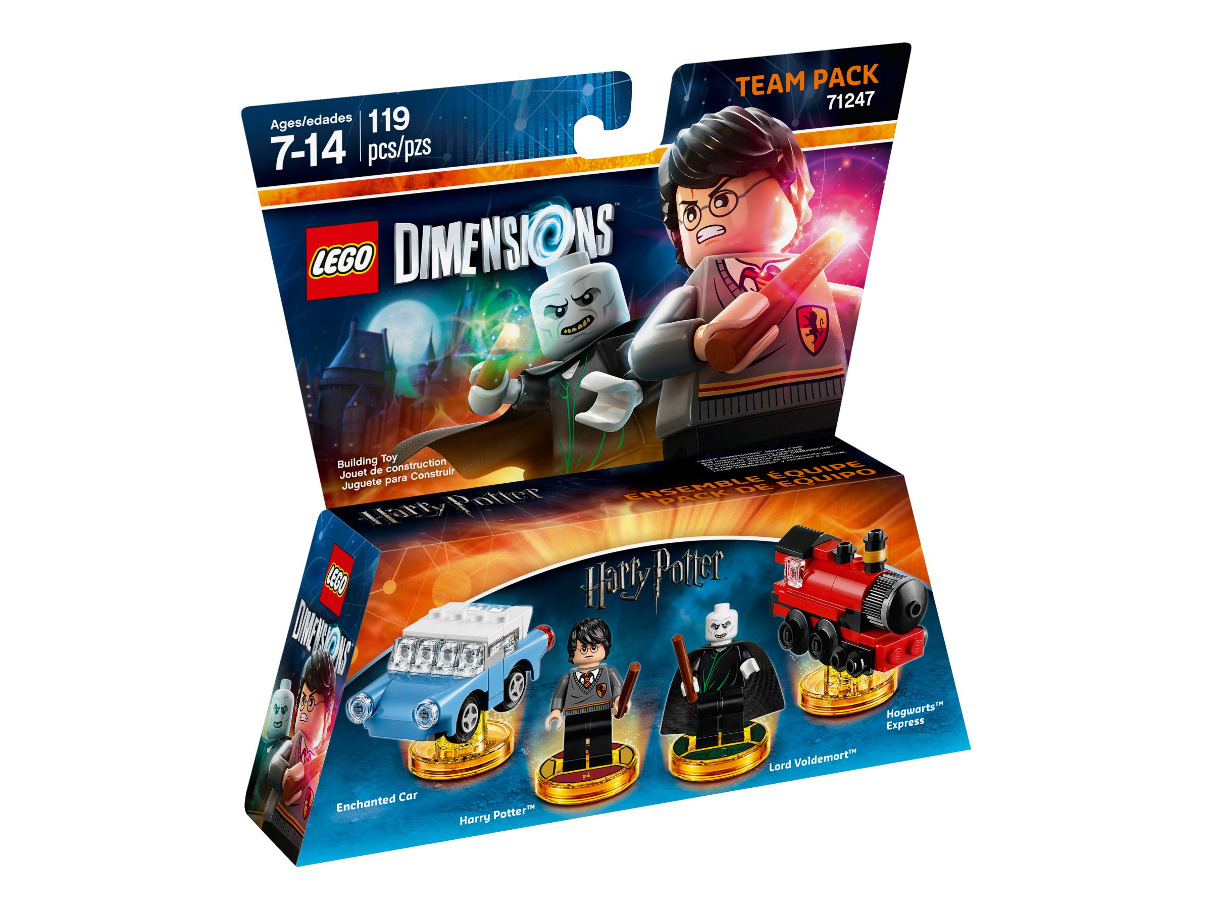 LEGO Dimensions 71247 Team Pack Harry Potter LEGO_71247_alt1.jpg