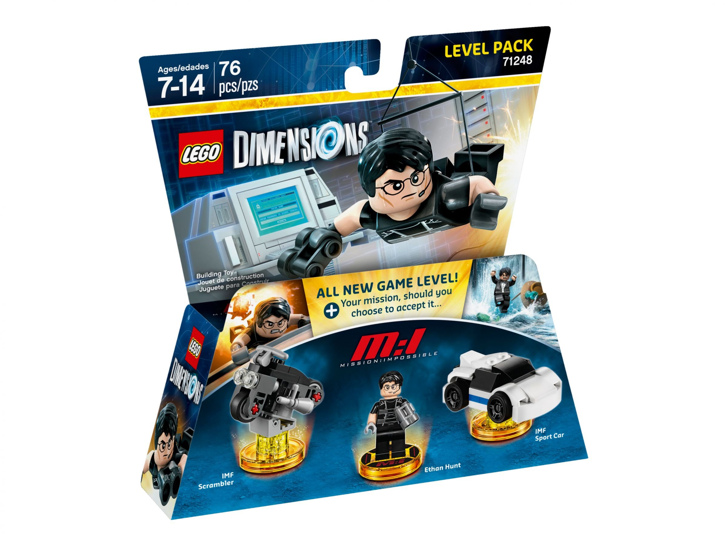 LEGO Dimensions 71248 Level Pack Mission Impossible LEGO_71248_alt1.jpg