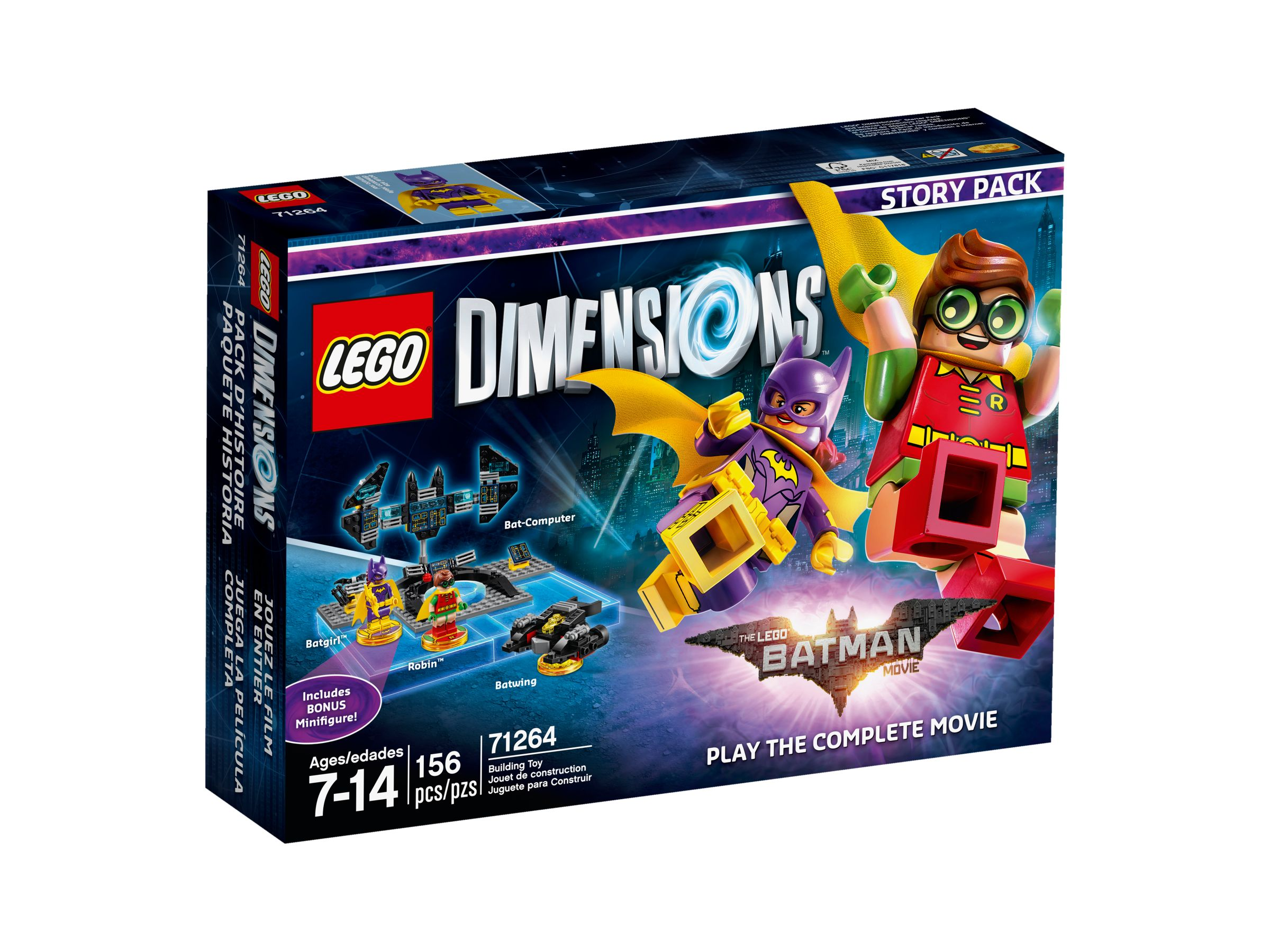 LEGO Dimensions 71264 THE LEGO® BATMAN MOVIE Story-Pack