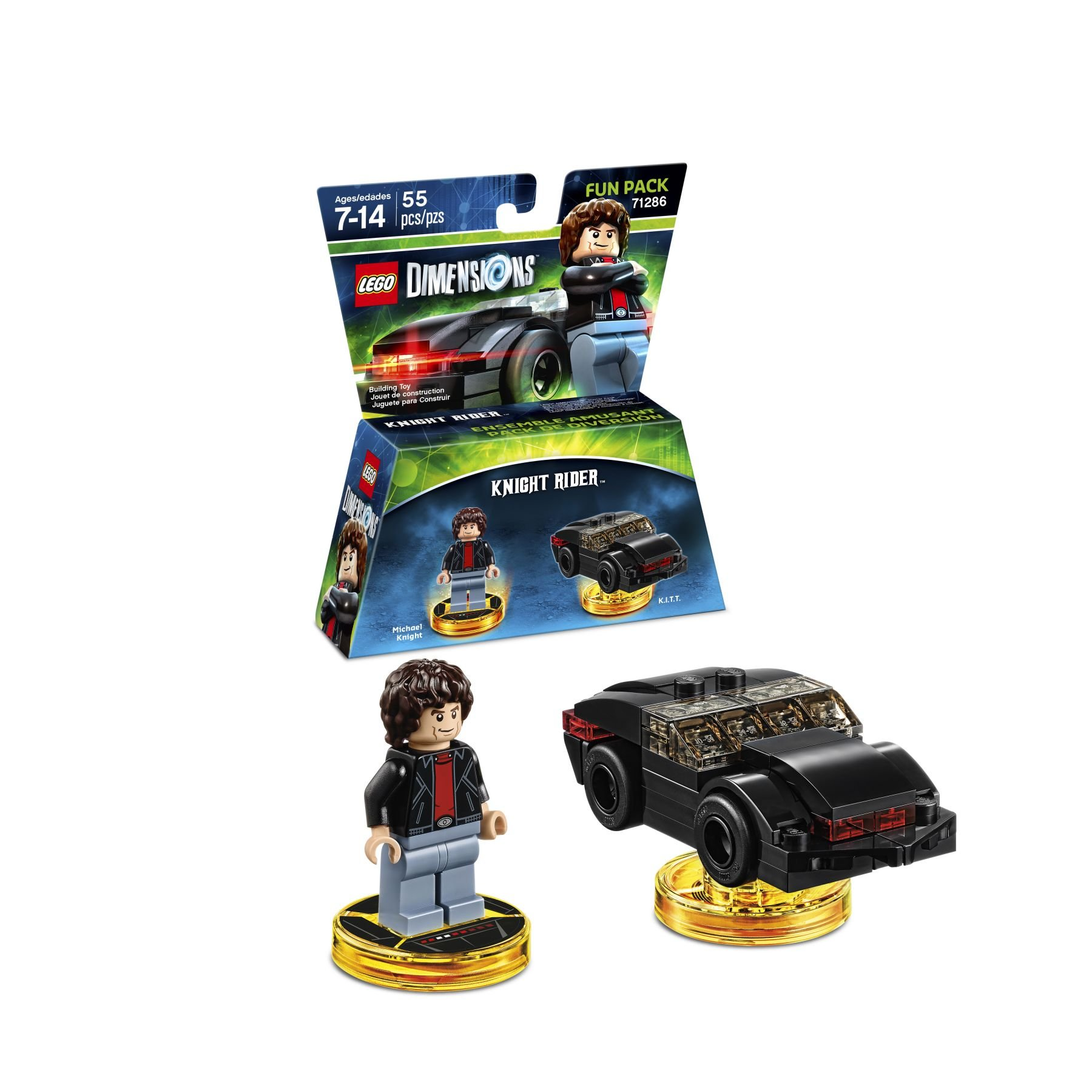 LEGO Dimensions 71286 Fun Pack Knight-Rider™
