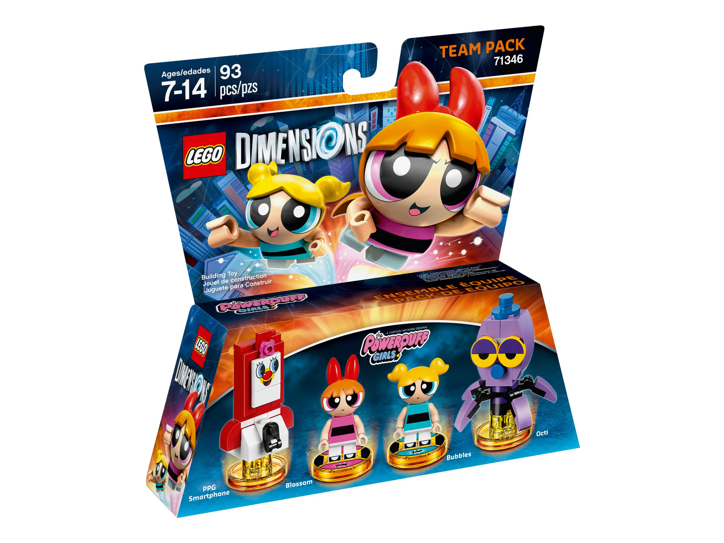 LEGO Dimensions 71346 The Powerpuff Girls™ Team-Pack LEGO_71346_alt1.jpg