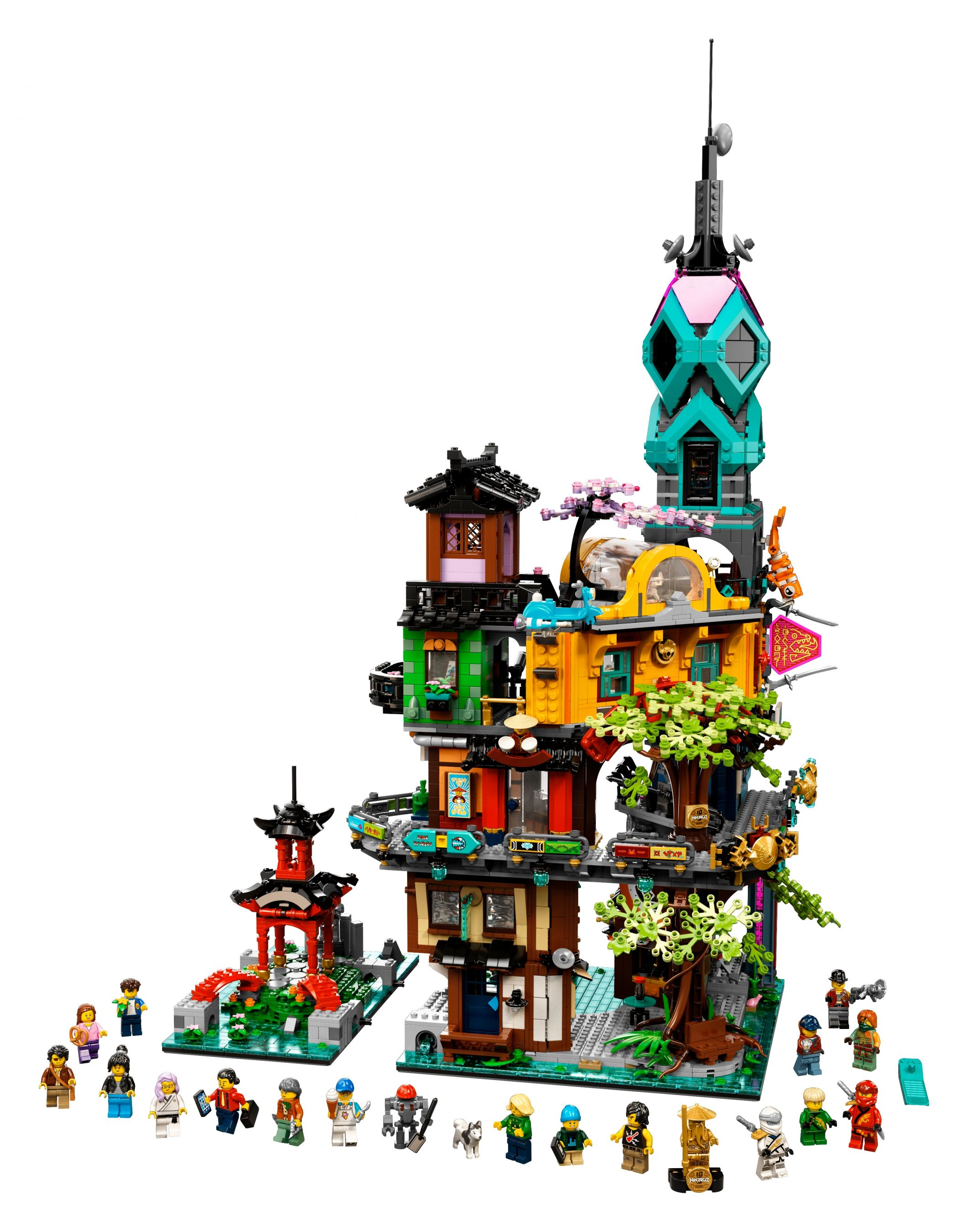 LEGO The LEGO Ninjago Movie 71741 Die Gärten von Ninjago City