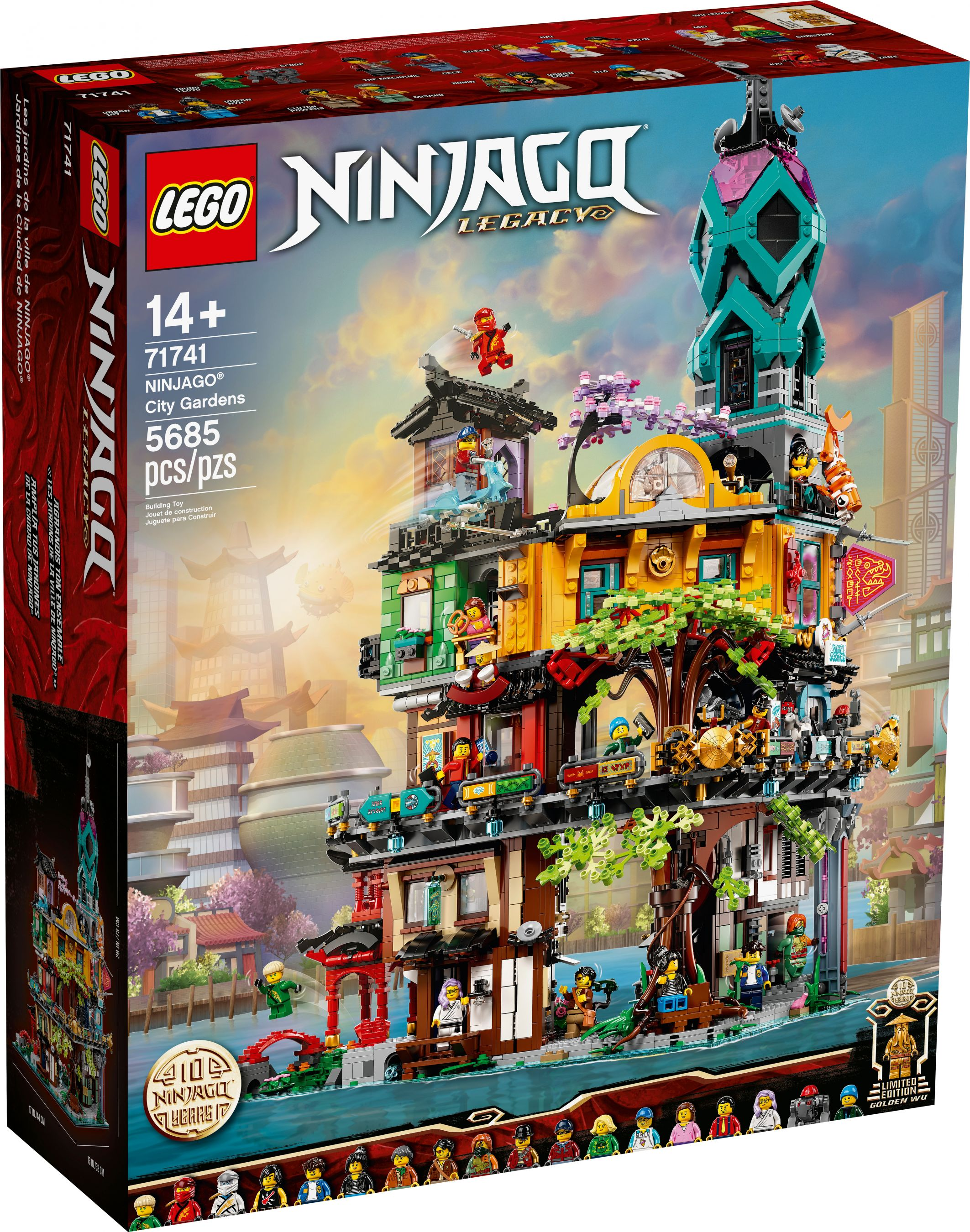 LEGO The LEGO Ninjago Movie 71741 Die Gärten von Ninjago City LEGO_71741_alt1.jpg