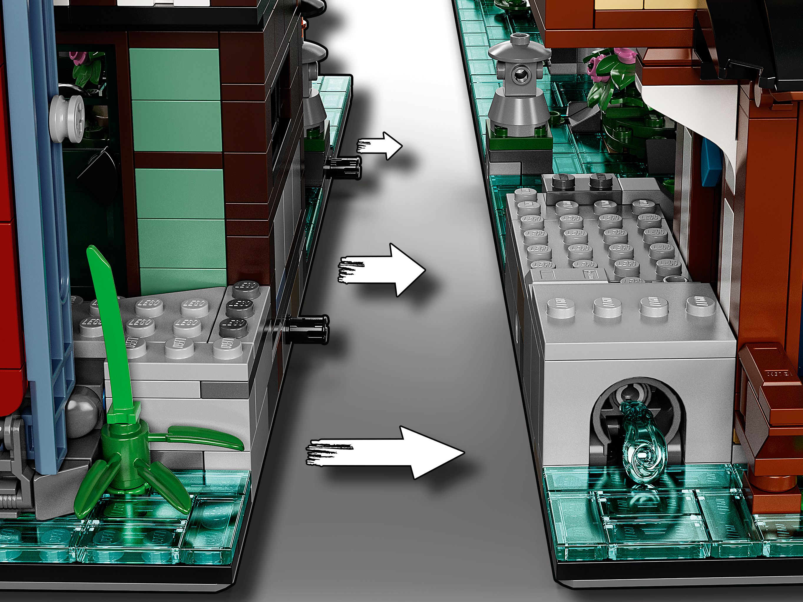 LEGO The LEGO Ninjago Movie 71741 Die Gärten von Ninjago City LEGO_71741_alt14.jpg