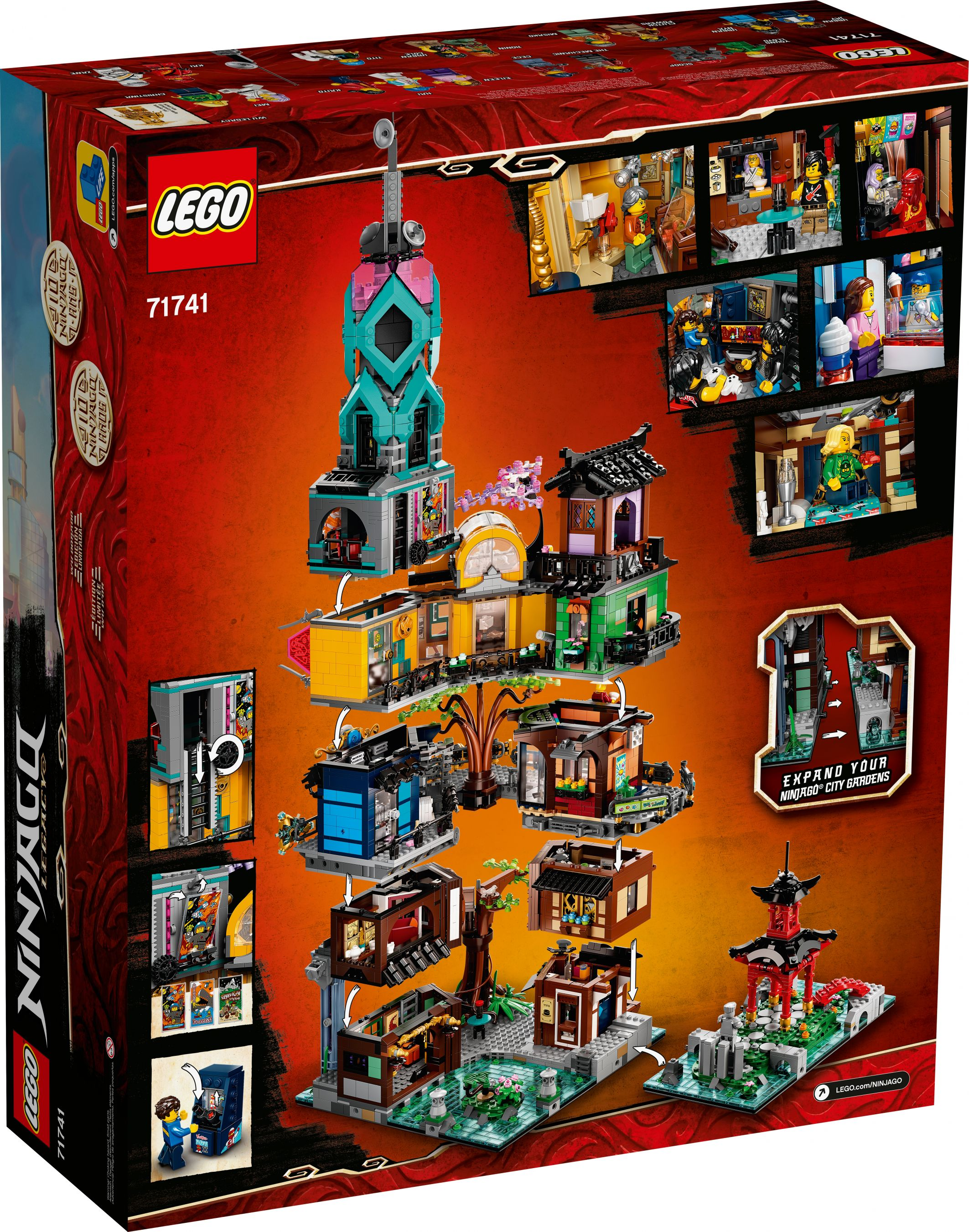 LEGO The LEGO Ninjago Movie 71741 Die Gärten von Ninjago City LEGO_71741_alt15.jpg