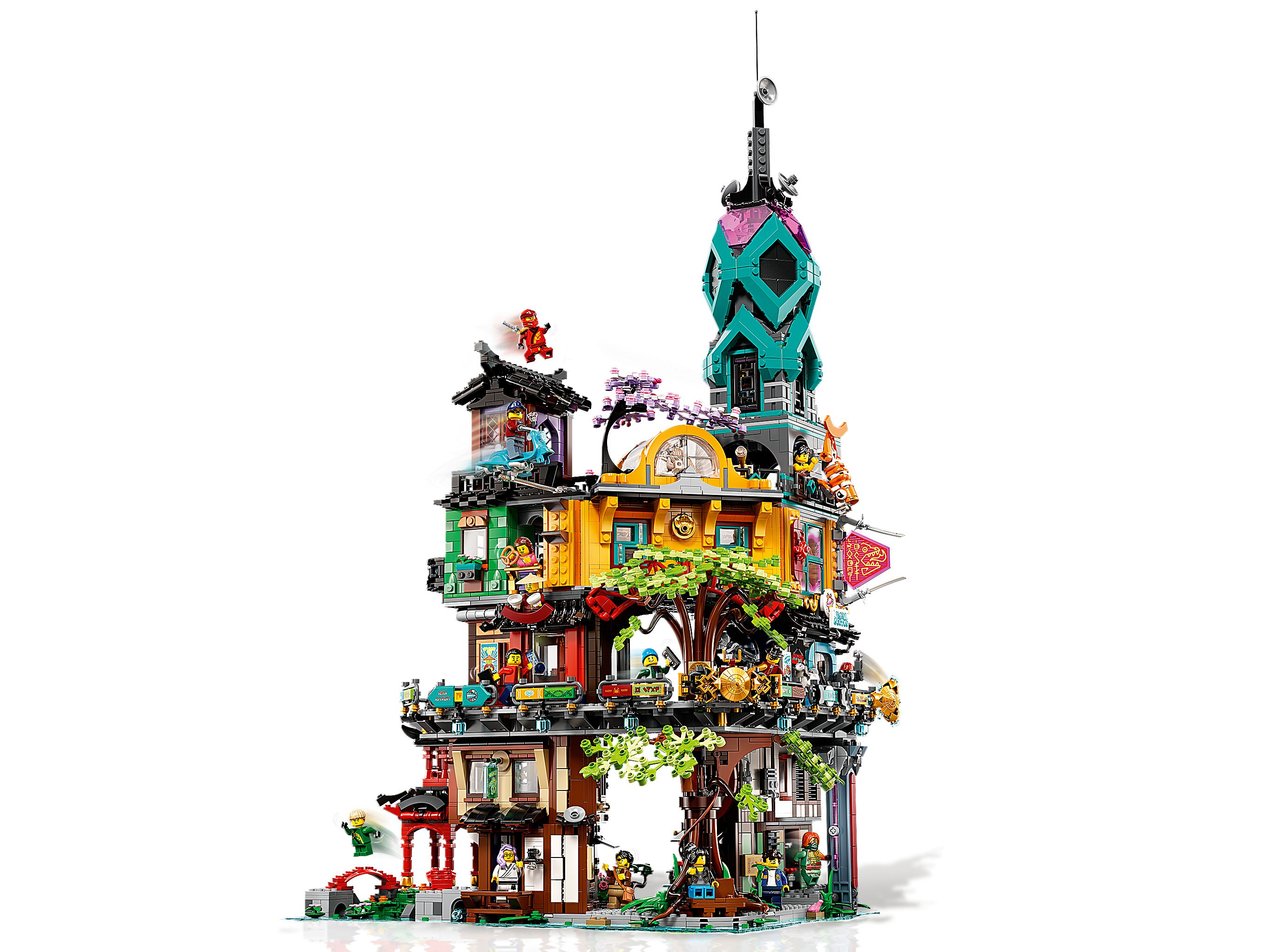 LEGO The LEGO Ninjago Movie 71741 Die Gärten von Ninjago City LEGO_71741_alt3.jpg