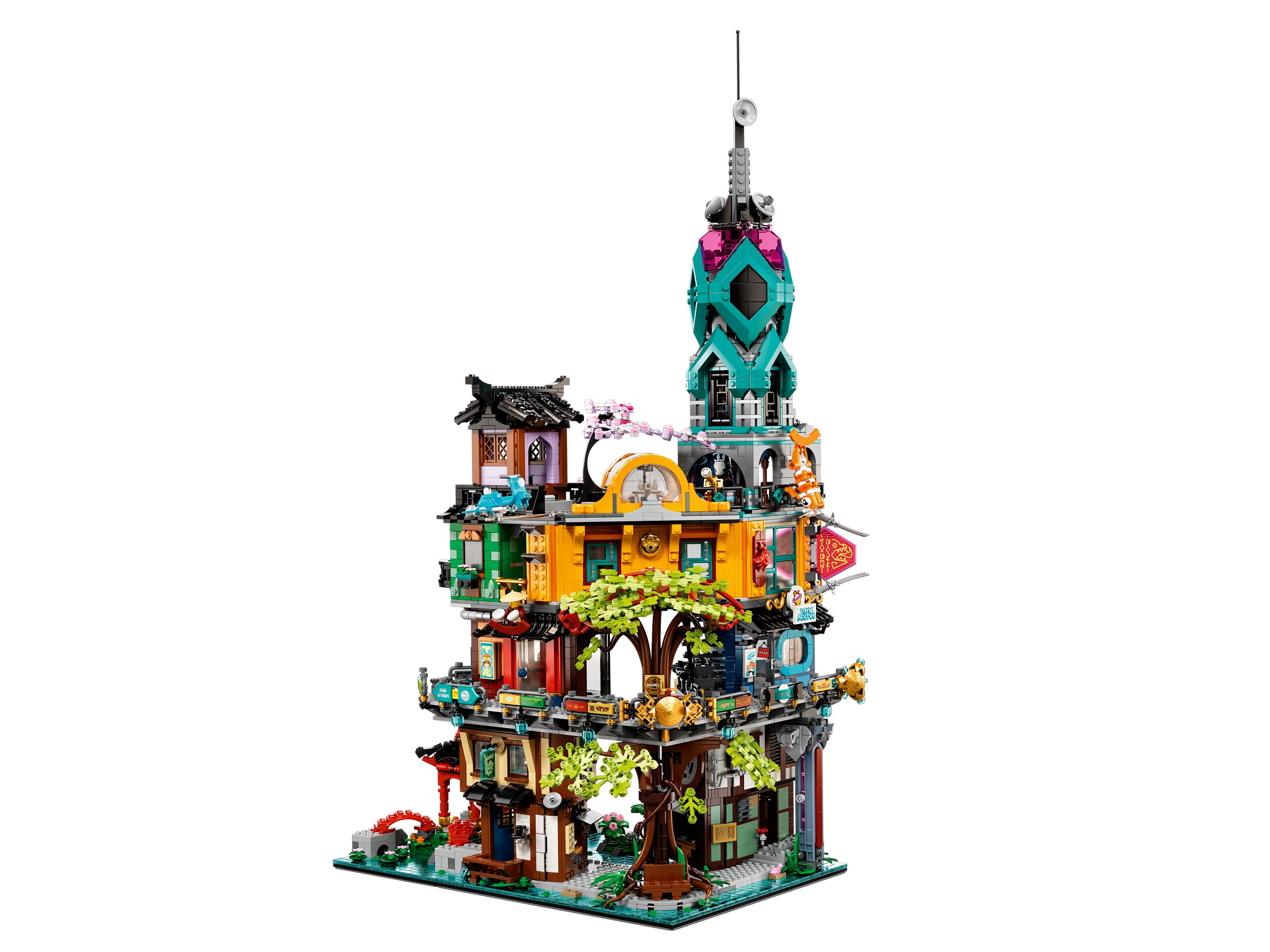 LEGO The LEGO Ninjago Movie 71741 Die Gärten von Ninjago City LEGO_71741_alt5.jpg
