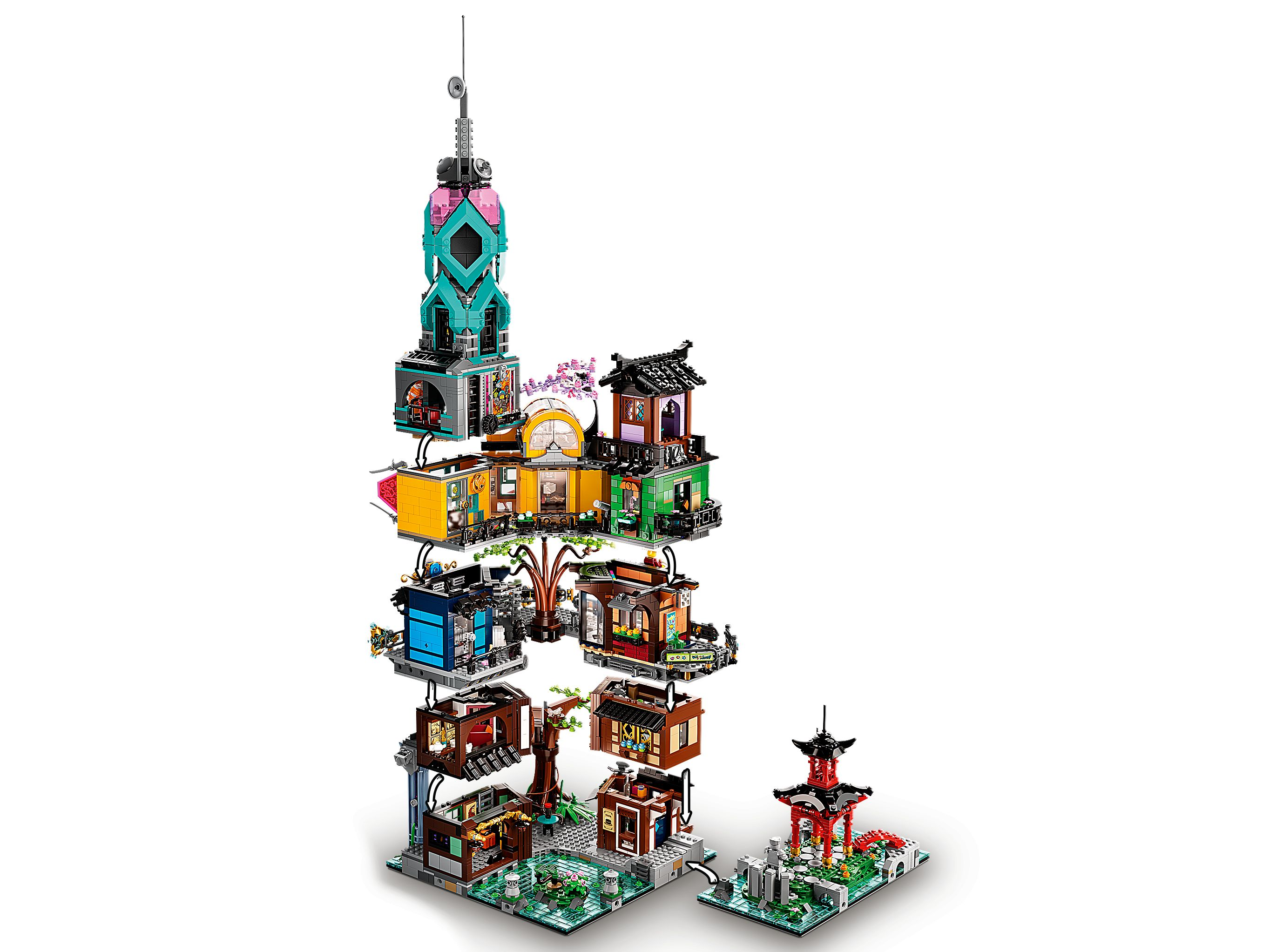 LEGO The LEGO Ninjago Movie 71741 Die Gärten von Ninjago City LEGO_71741_alt6.jpg