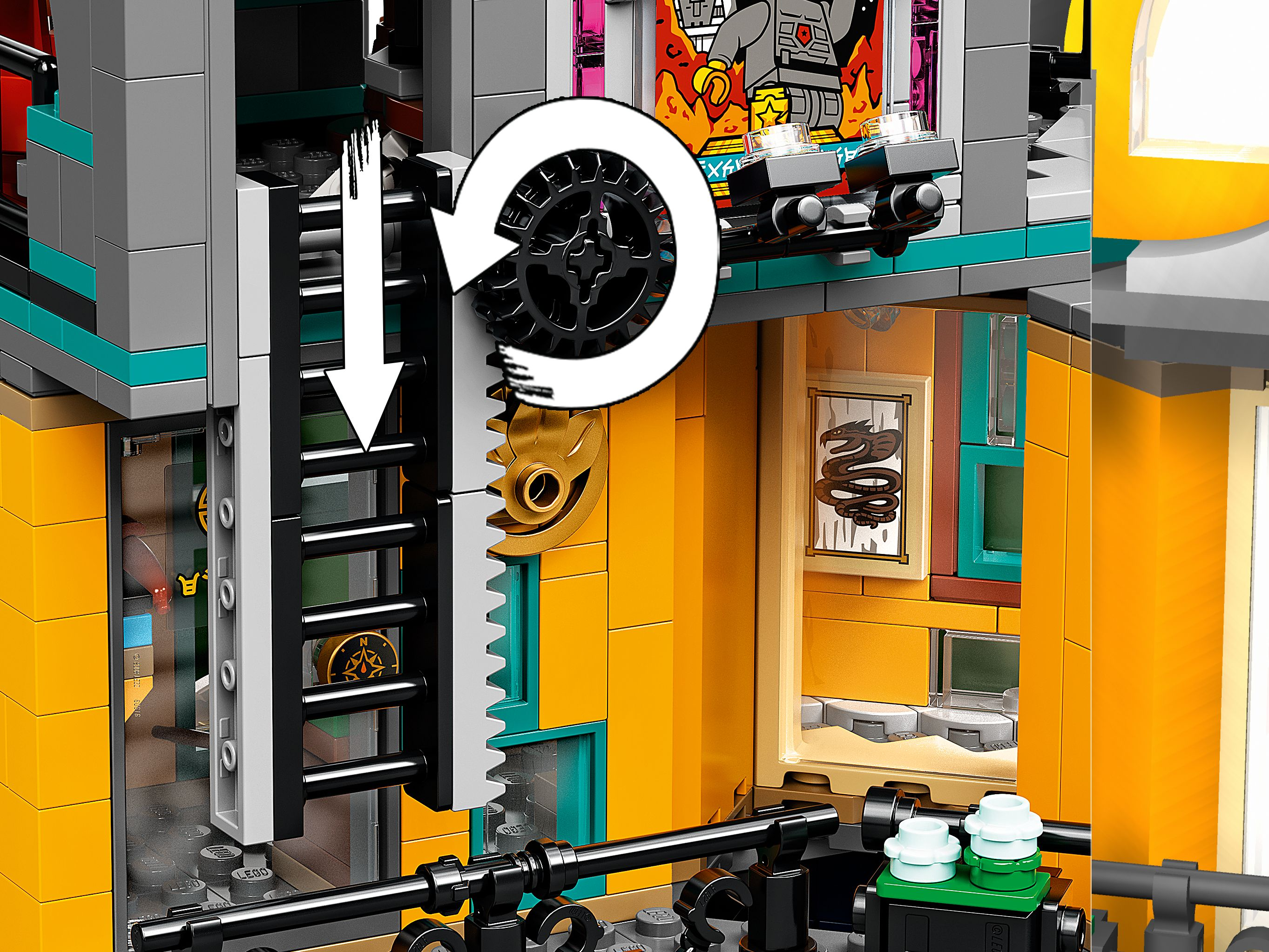LEGO The LEGO Ninjago Movie 71741 Die Gärten von Ninjago City LEGO_71741_alt8.jpg
