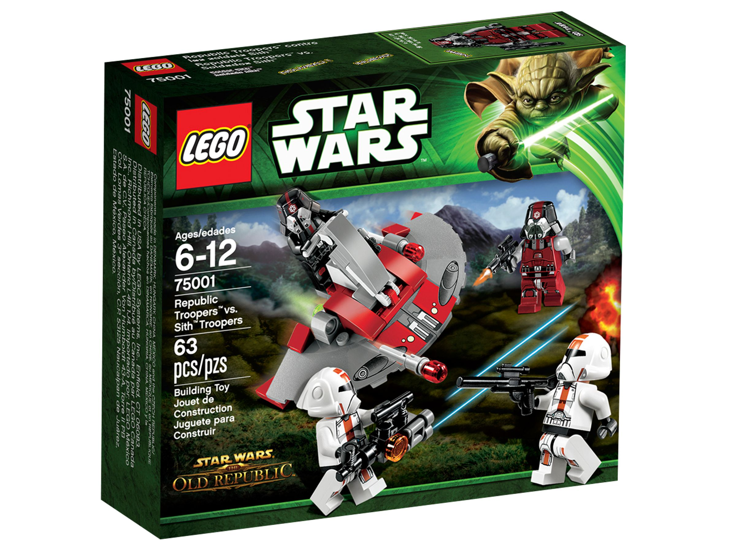 LEGO Star Wars 75001 Republic Troopers™ vs Sith™ Troopers LEGO_75001_alt1.jpg