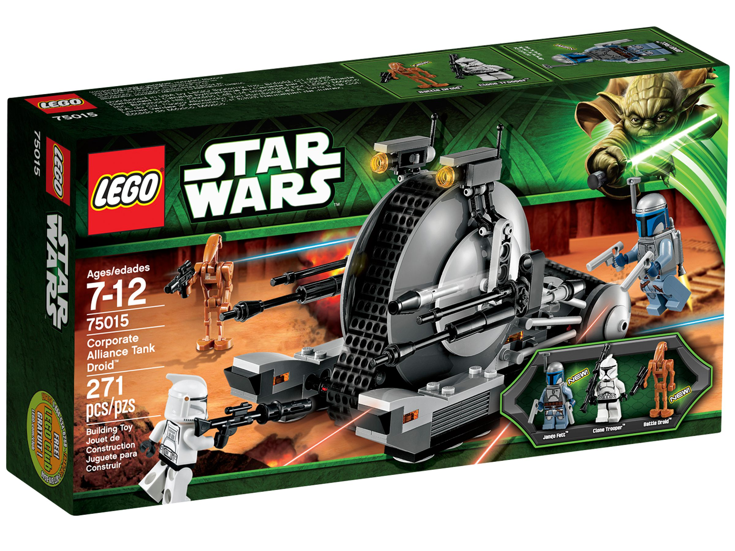 LEGO Star Wars 75015 Corporate Alliance Tank Droid™ LEGO_75015_alt1.jpg