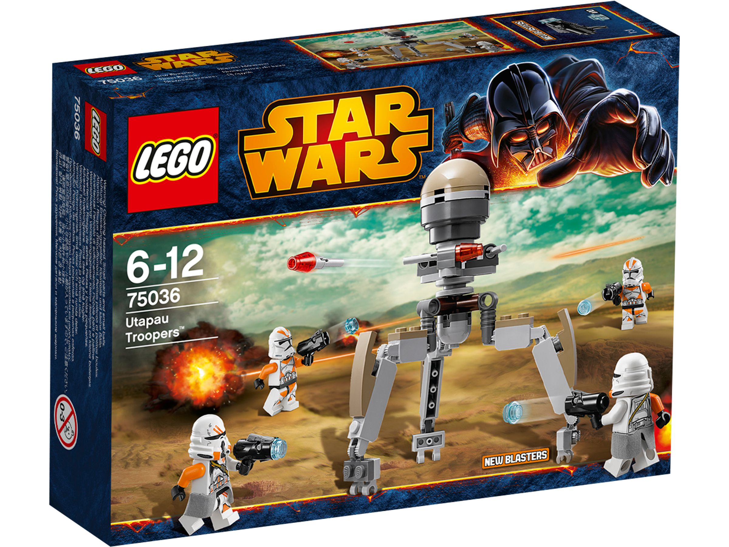 lego 75036 utapau troopers star wars 2014 utapau troopers brickmerge. Black Bedroom Furniture Sets. Home Design Ideas