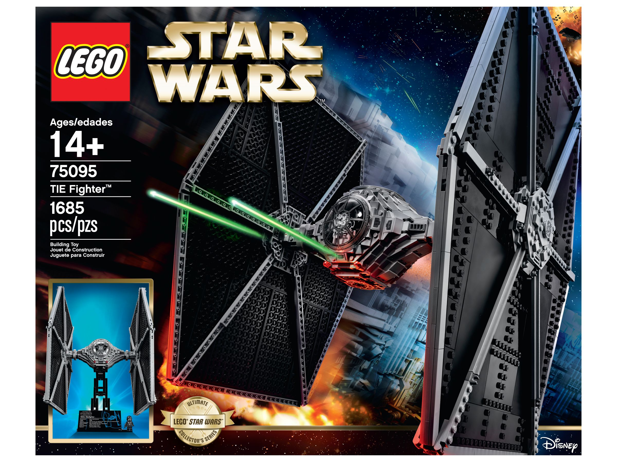 LEGO Star Wars 75095 UCS TIE Fighter™ LEGO_75095_alt1.jpg
