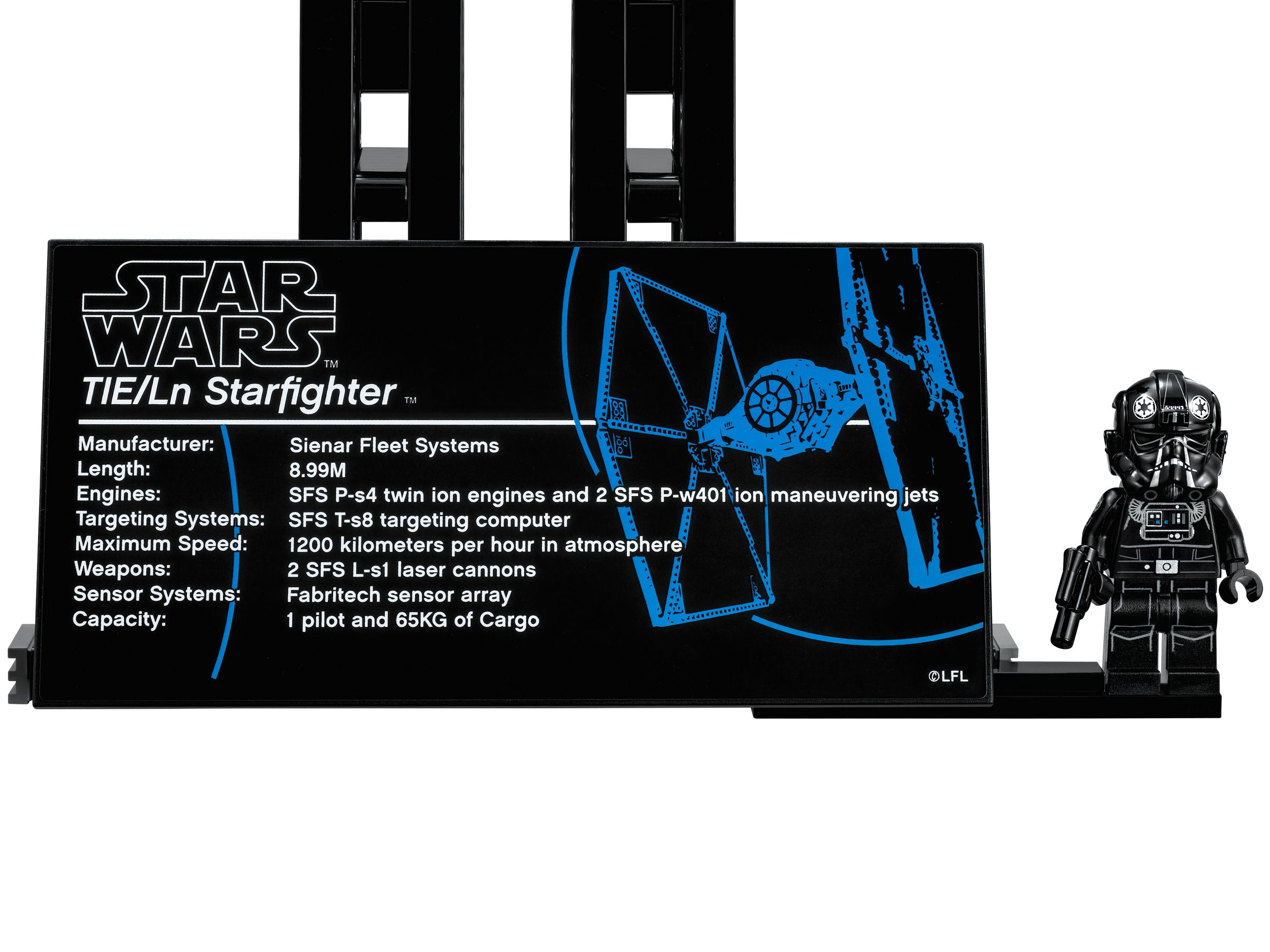 LEGO Star Wars 75095 UCS TIE Fighter™ LEGO_75095_alt3.jpg