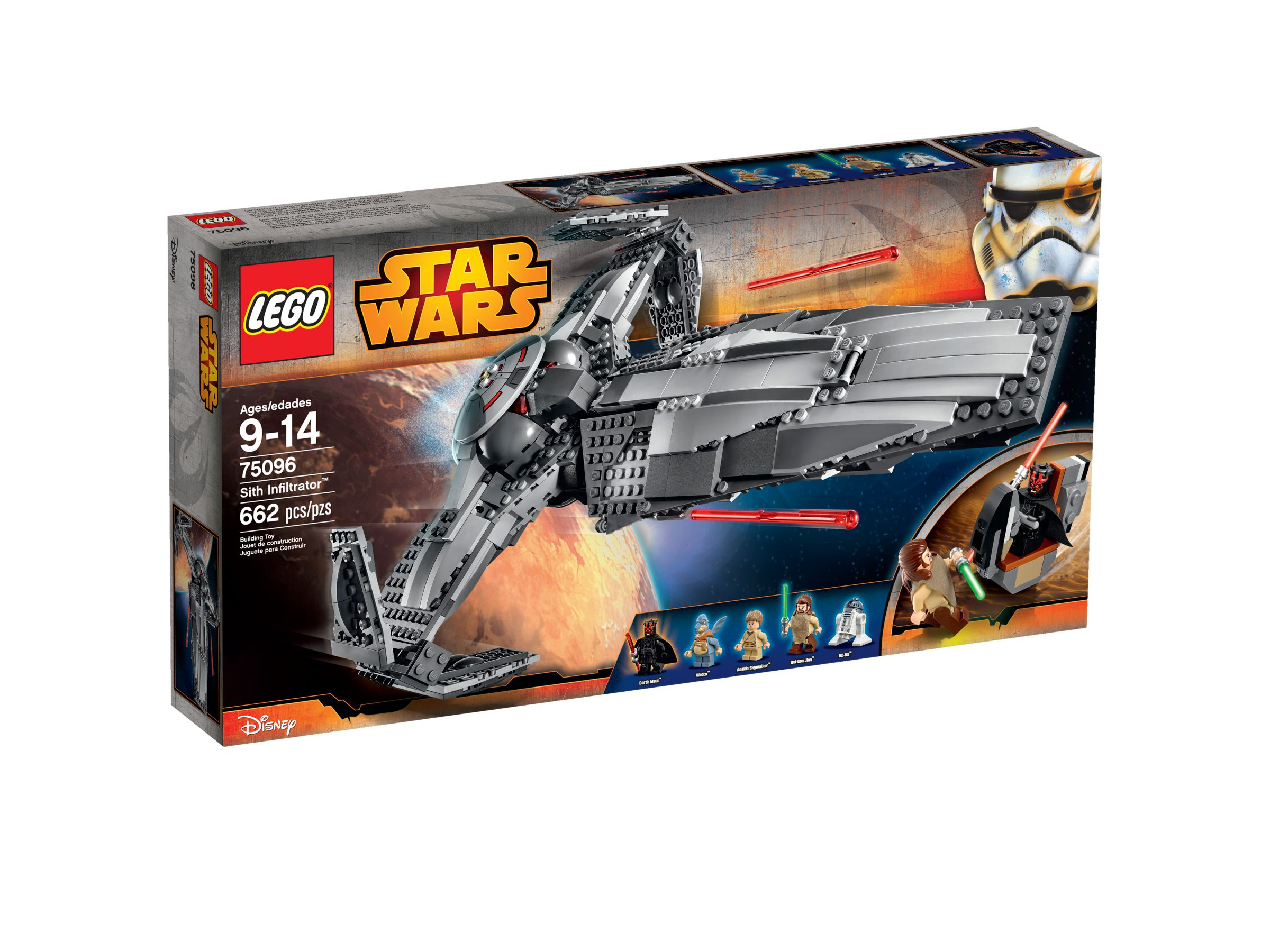 lego 75096 sith infiltrator star wars 2015 sith infiltrator brickmerge. Black Bedroom Furniture Sets. Home Design Ideas