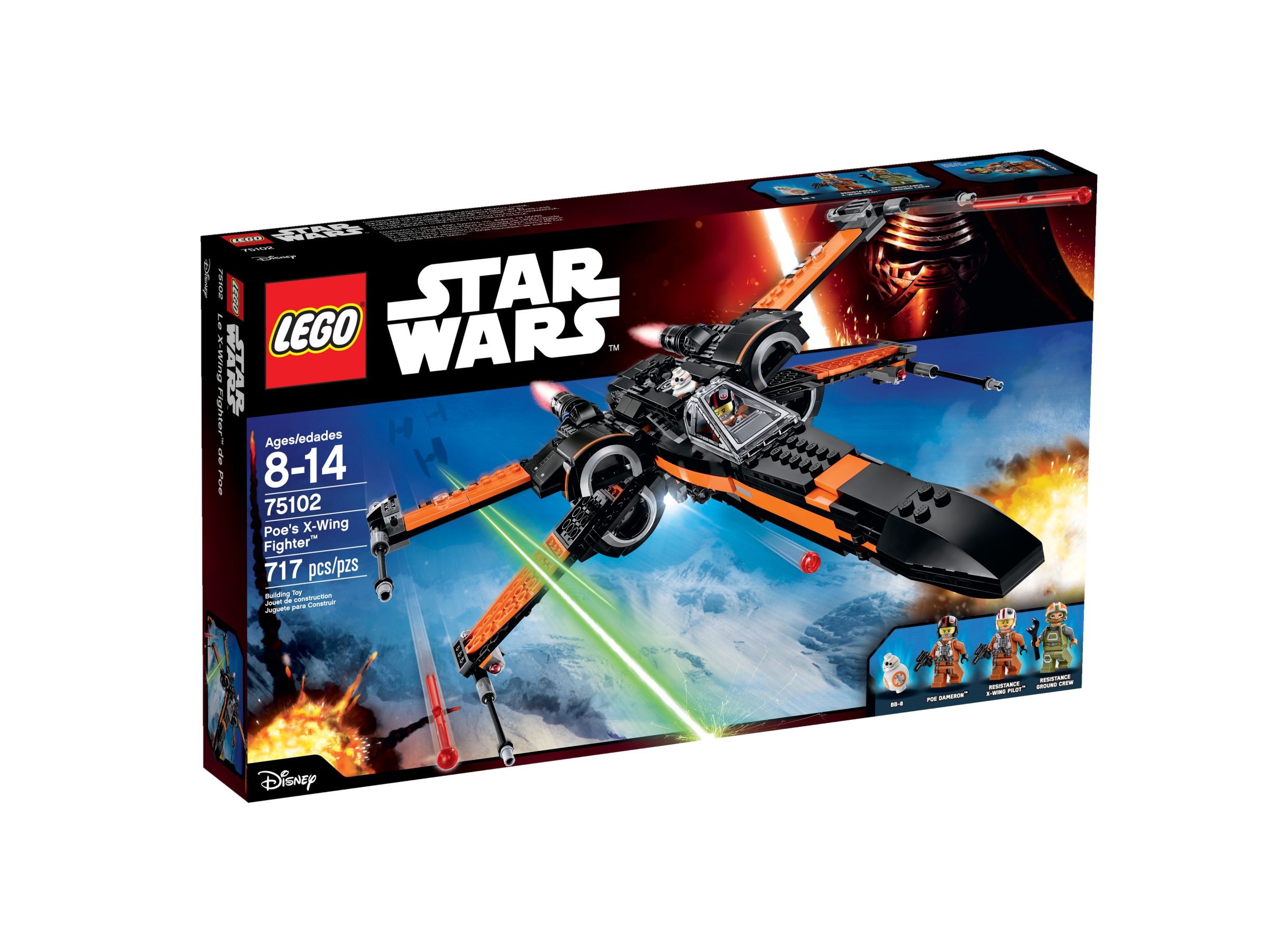 LEGO Star Wars 75102 Poe's X-Wing Fighter™ LEGO_75102_alt1.jpg