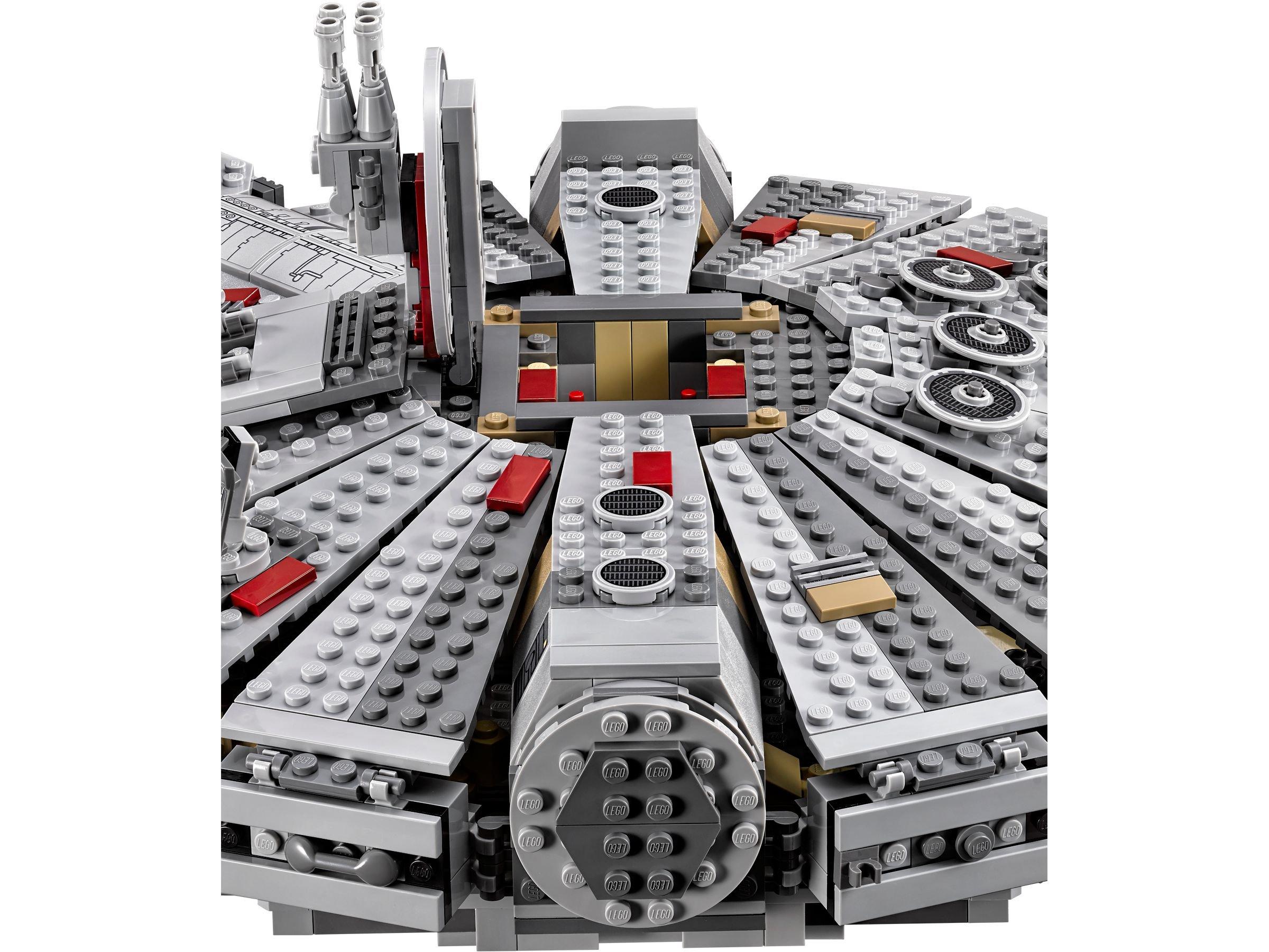 lego 75105 millennium falcon star wars 2015 brickmerge. Black Bedroom Furniture Sets. Home Design Ideas
