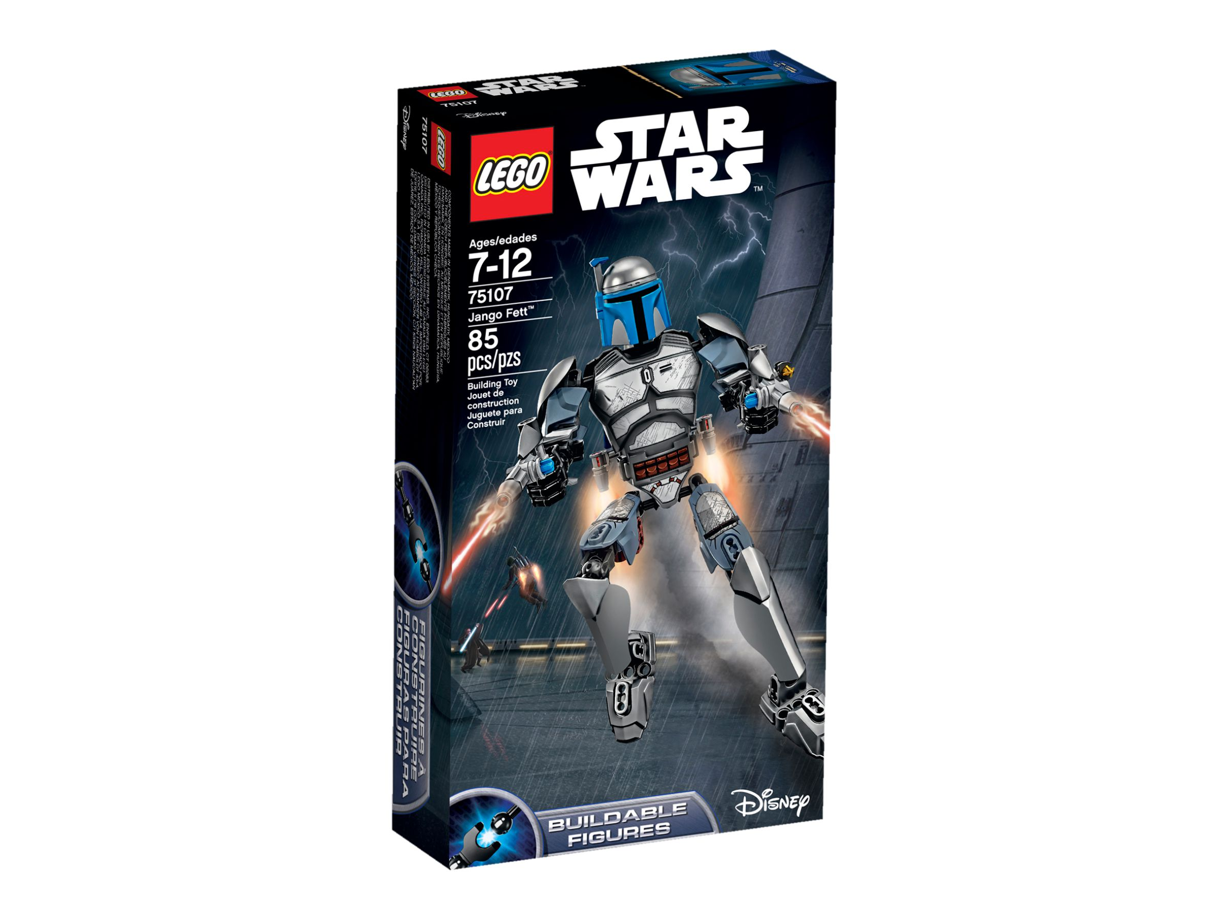 LEGO Star Wars Buildable Figures 75107 Jango Fett™ LEGO_75107_alt1.jpg