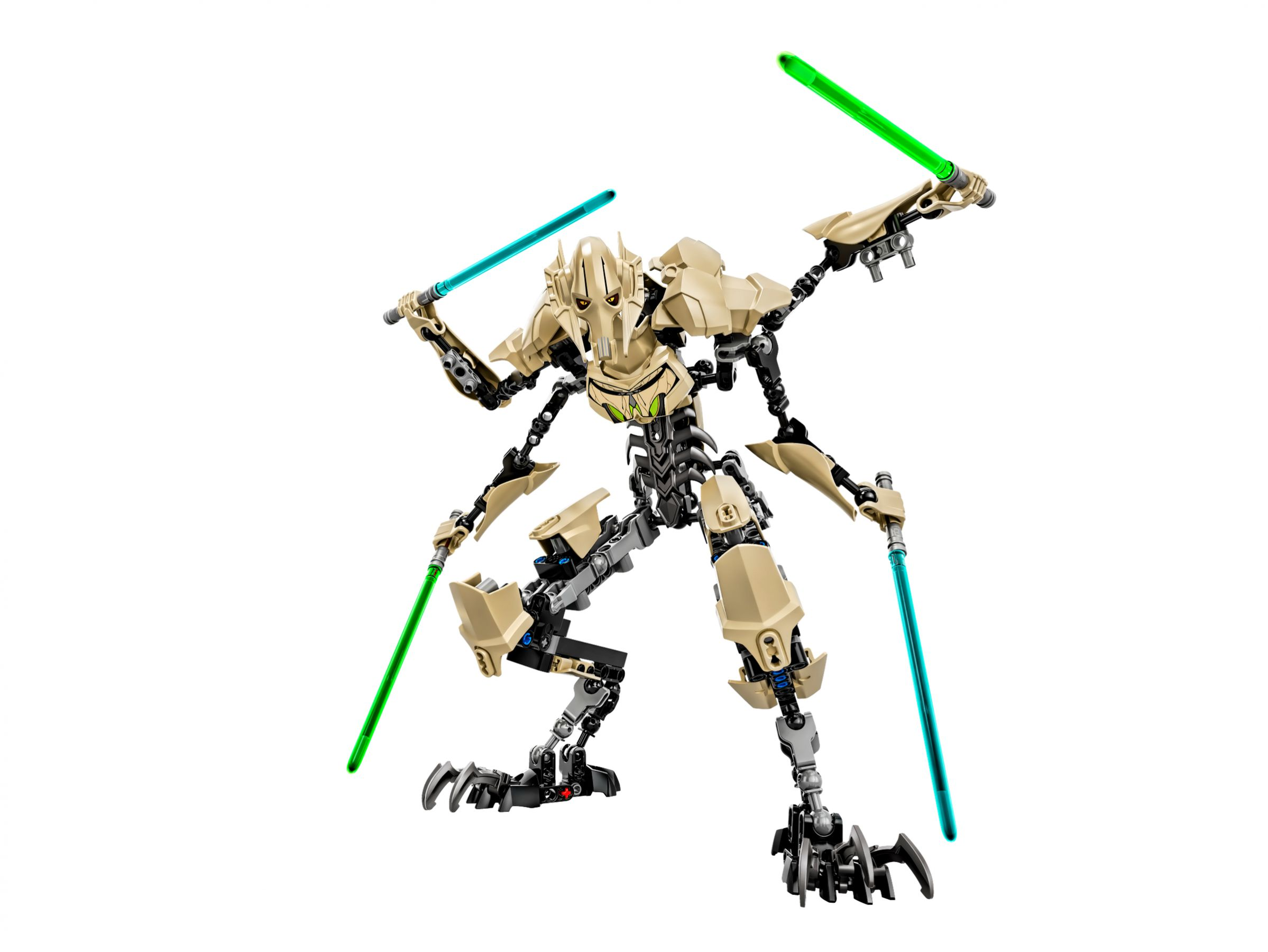 LEGO Star Wars Buildable Figures 75112 General Grievous™ LEGO_75112.jpg