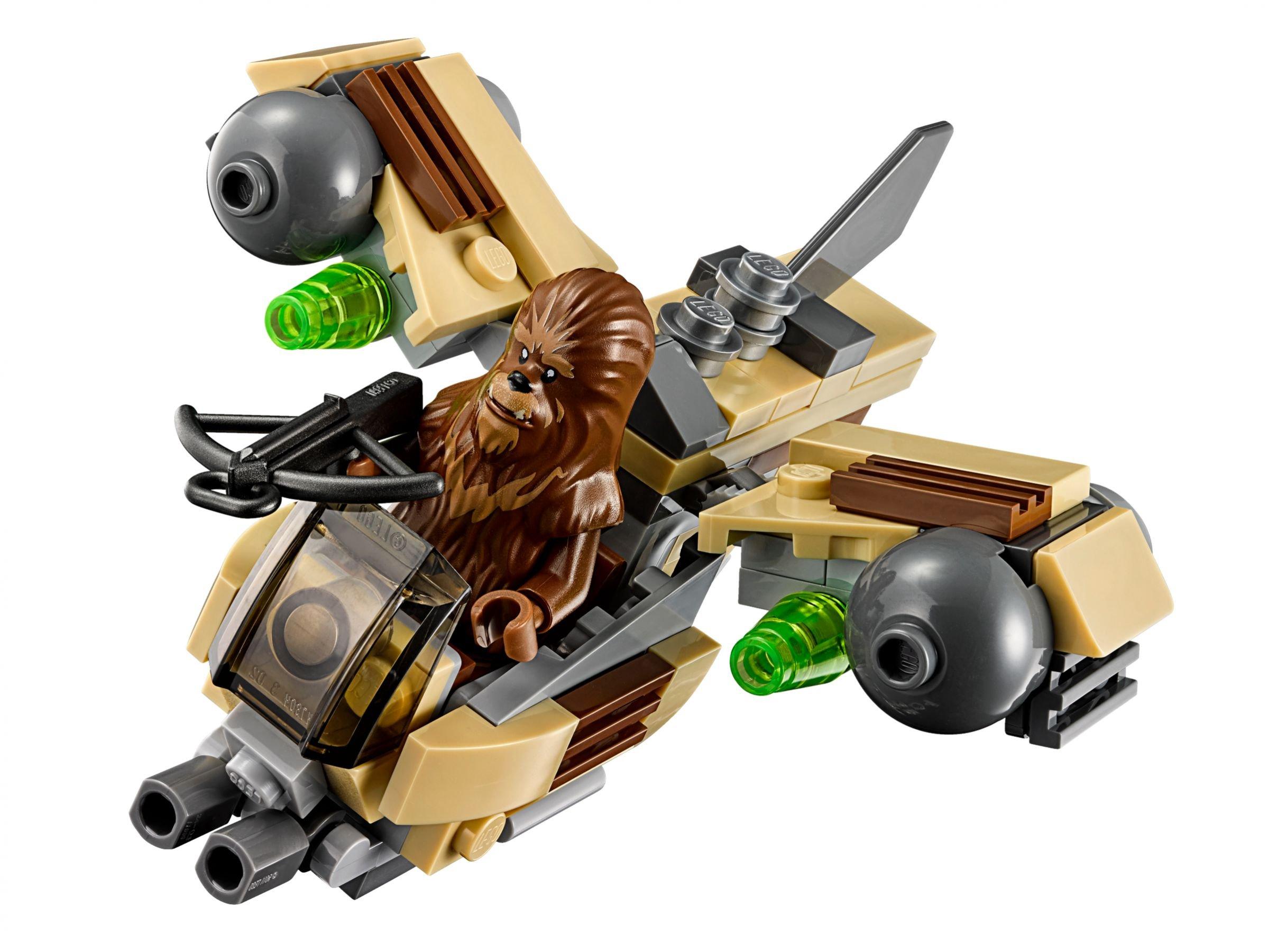 wookiee gunship 75129 lego star wars 2016 im preisvergleich wookiee gunship. Black Bedroom Furniture Sets. Home Design Ideas