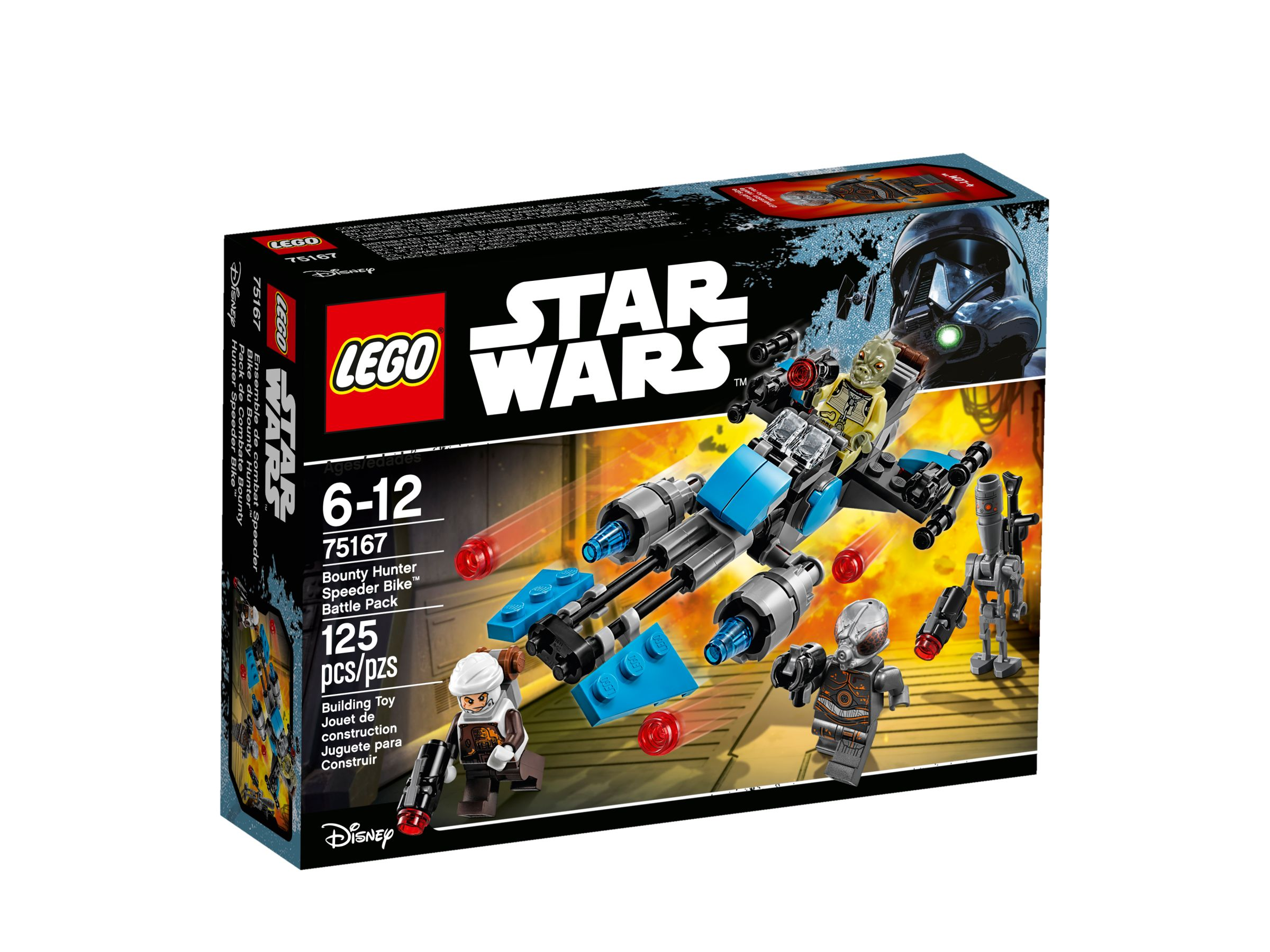 LEGO Star Wars 75167 Bounty Hunter Speeder Bike™ Battle Pack LEGO_75167_alt1.jpg