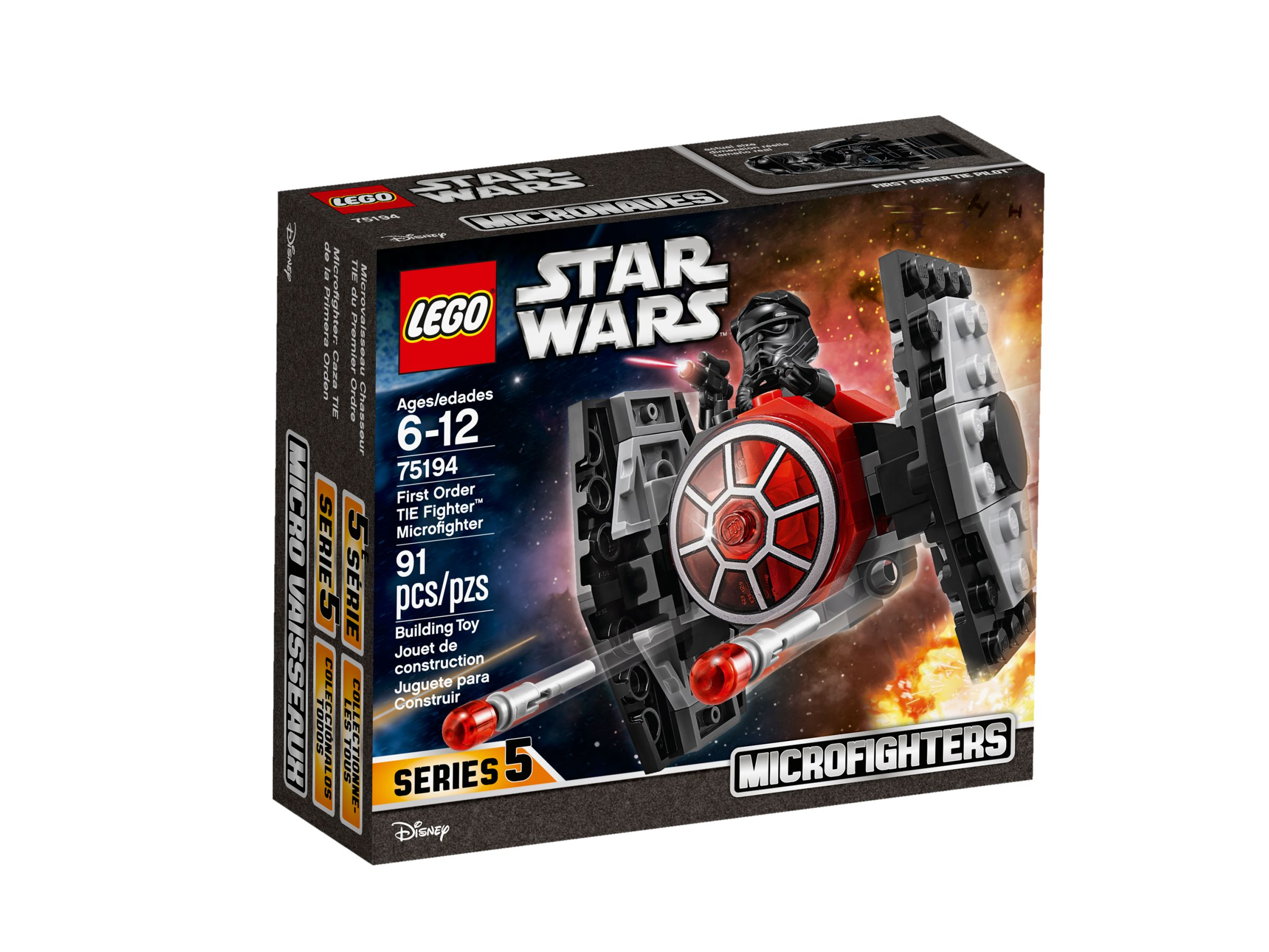 LEGO Star Wars 75194 First Order TIE Fighter Microfighter LEGO_75194_alt1.jpg