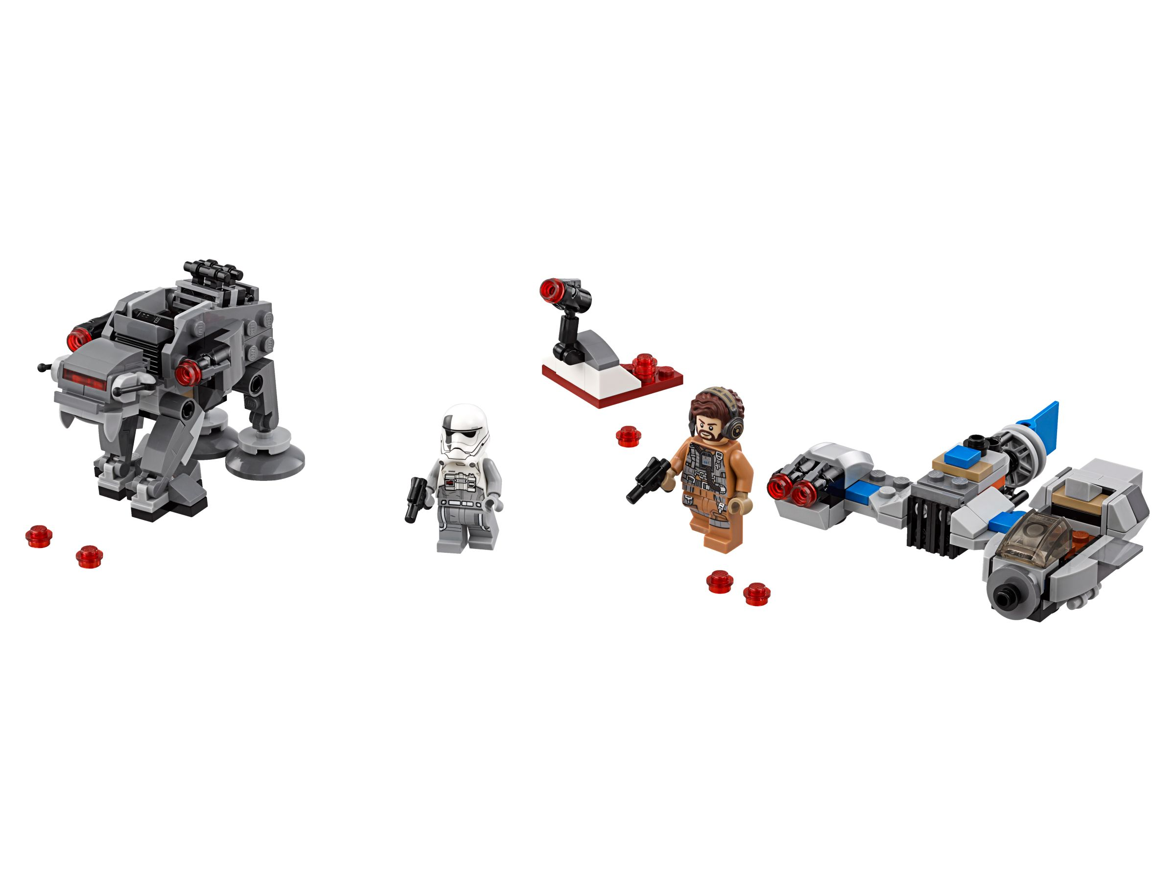 LEGO Star Wars 75195 Ski Speeder™ vs. First Order Walker™ Microfighters