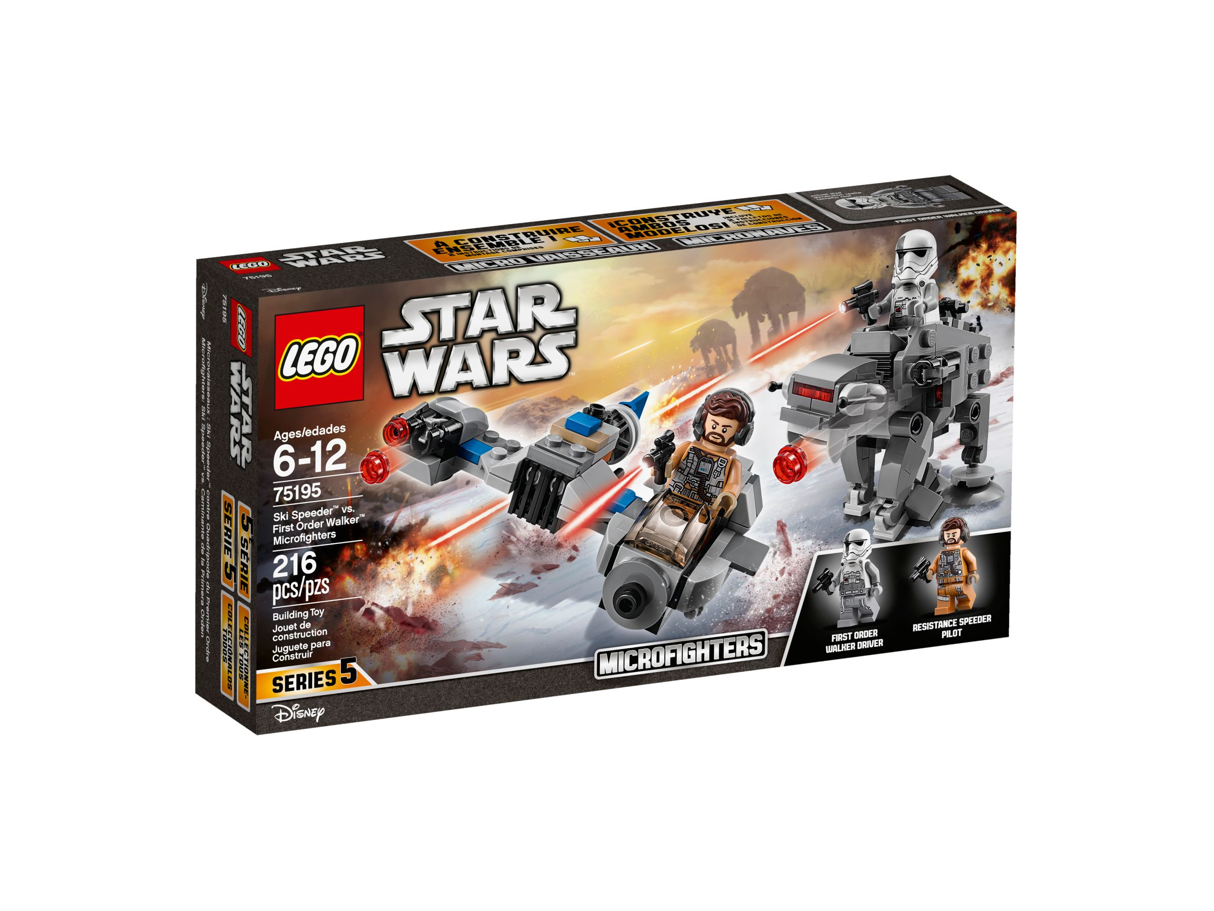 LEGO Star Wars 75195 Ski Speeder™ vs. First Order Walker™ Microfighters LEGO_75195_alt1.jpg
