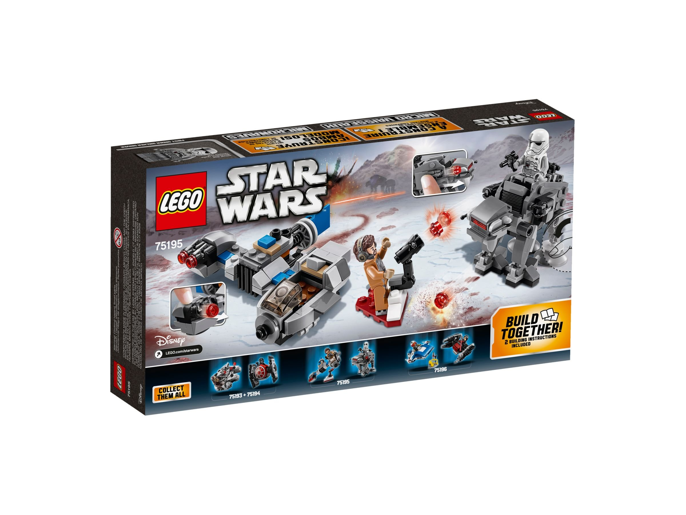 LEGO Star Wars 75195 Ski Speeder™ vs. First Order Walker™ Microfighters LEGO_75195_alt2.jpg