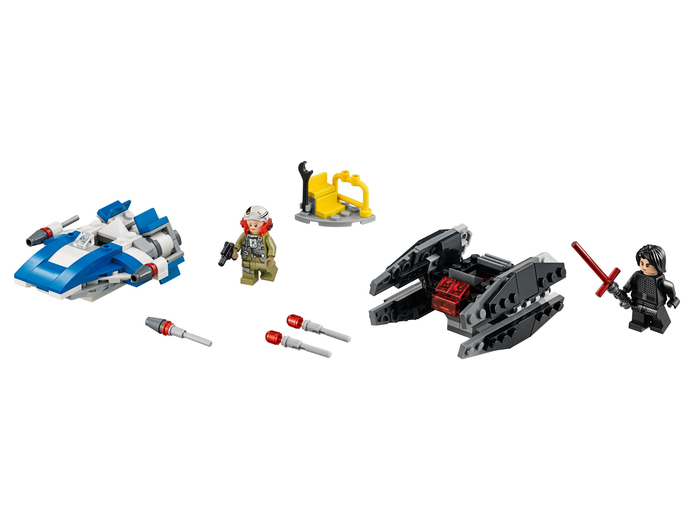 LEGO Star Wars 75196 A-Wing™ vs. TIE Silencer™ Microfighters